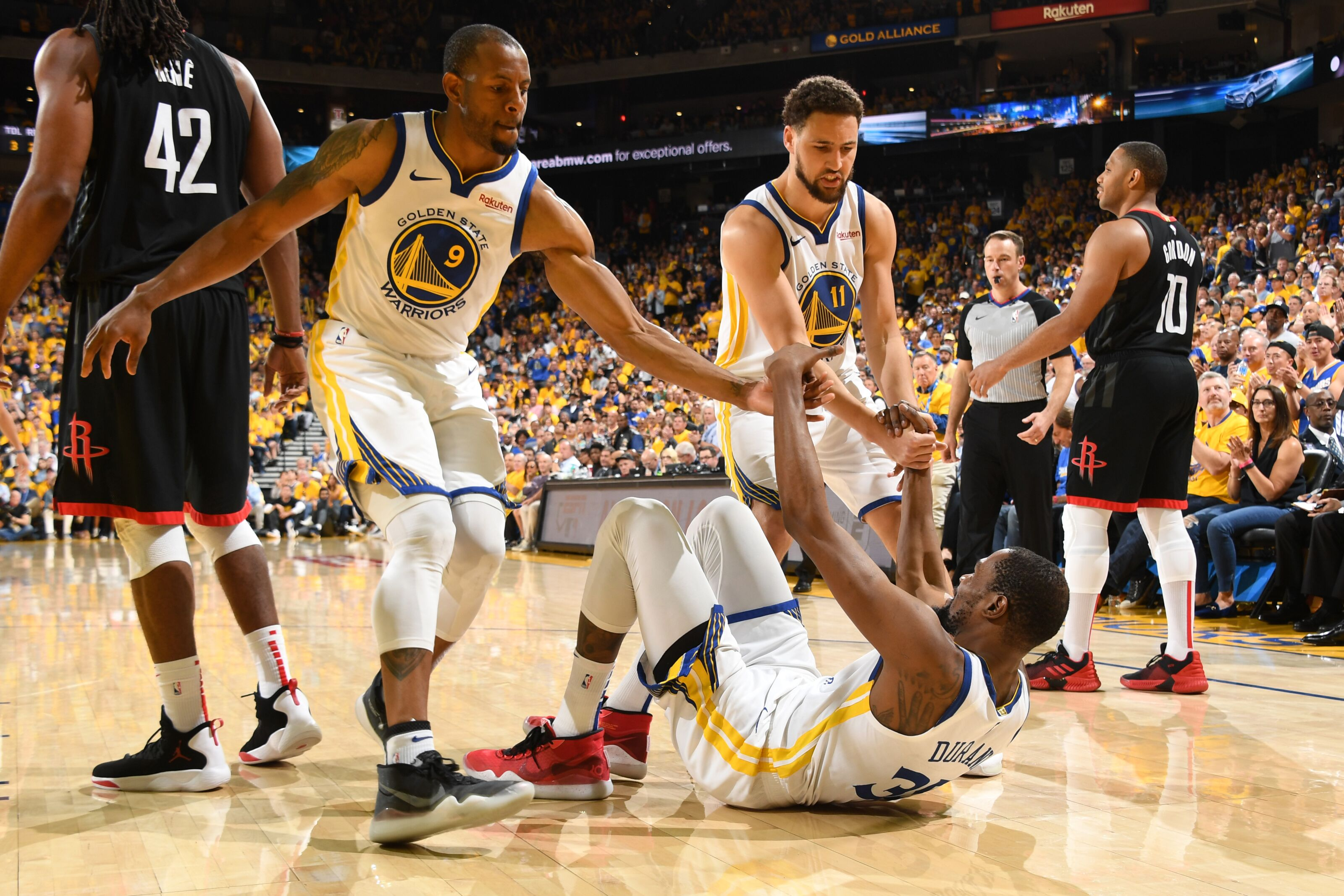 Golden State Warriors: Ironically, Kevin Durant got mad when double-teamed in practice