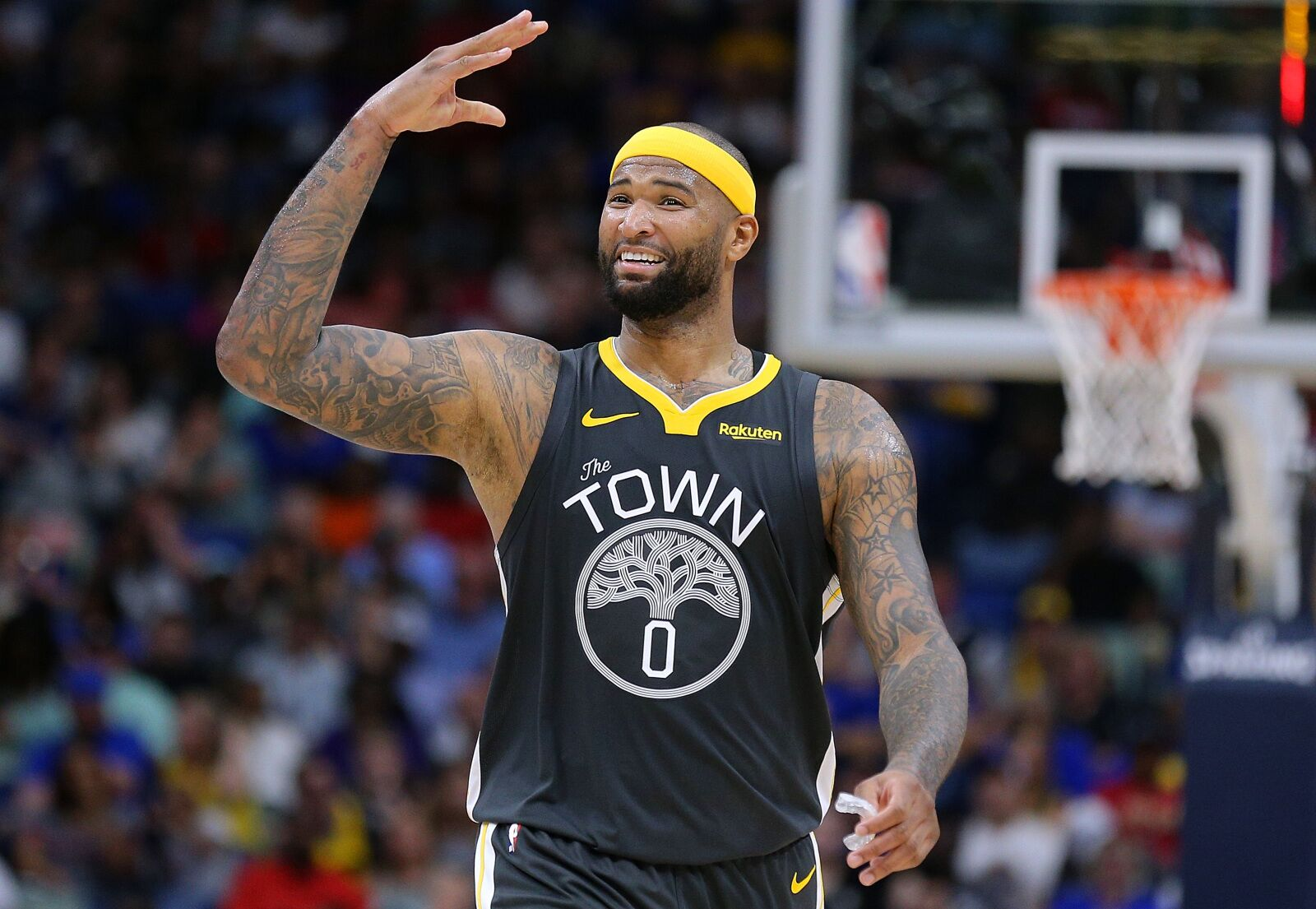 4bf95e7e854 Golden State Warriors must effectively hide DeMarcus Cousins on defense