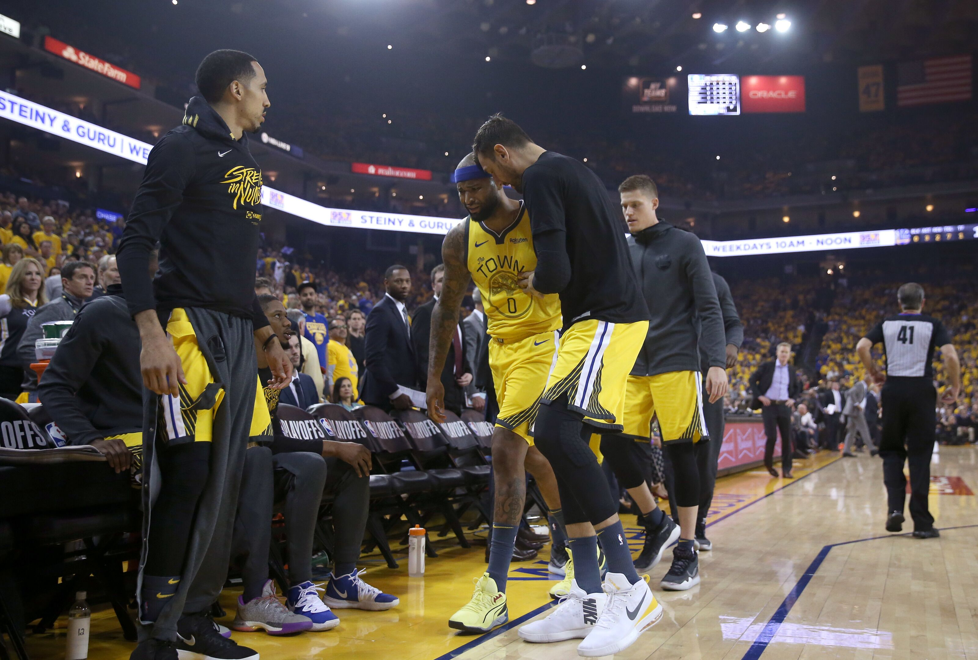 Golden State Warriors: DeMarcus Cousins could return for Game 1 of Finals