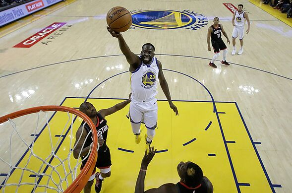 af95a67c46a0 The Golden State Warriors have beaten the Houston Rockets in Game 1