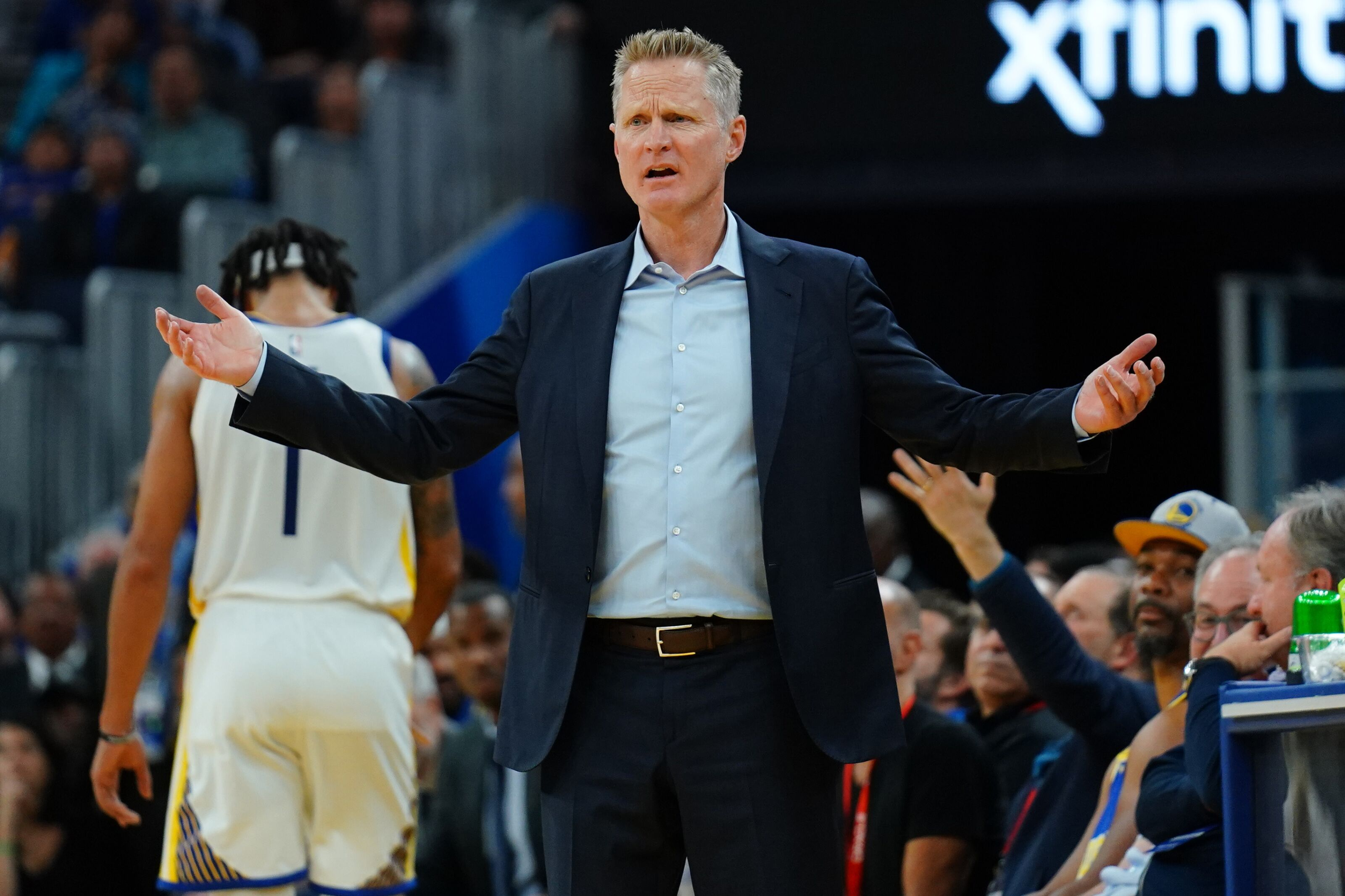 Golden State Warriors: Steve Kerr is having his talents tested