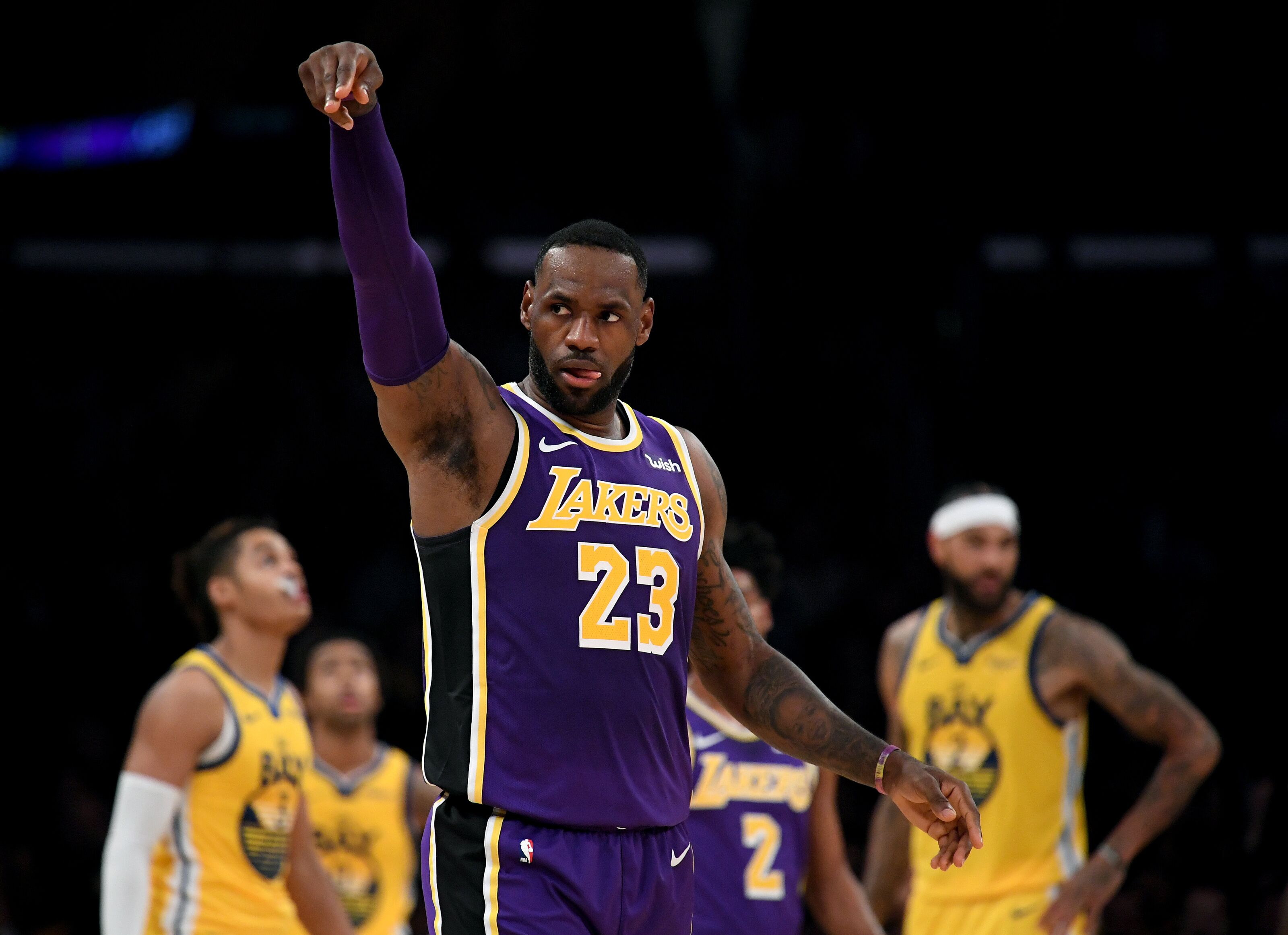 LeBron James has no remorse for reeling Golden State Warriors