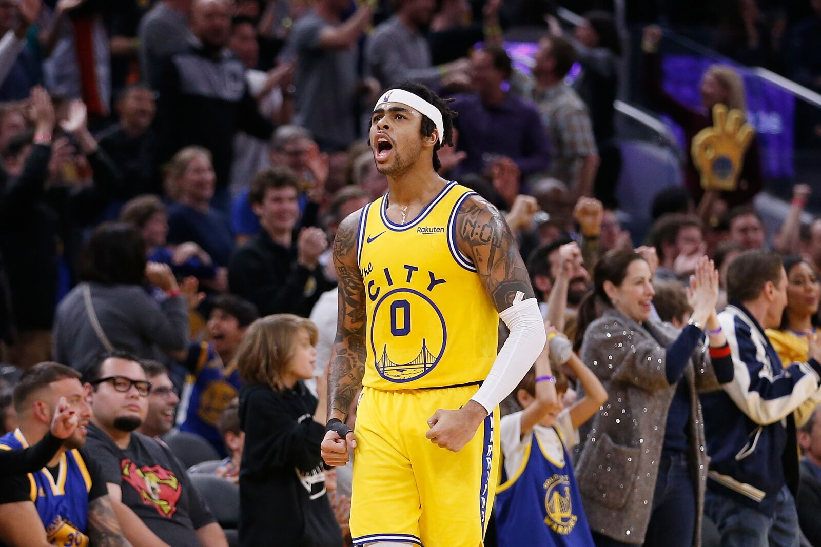Golden State Warriors Rumors: Wolves must overpay to get D'Angelo Russell