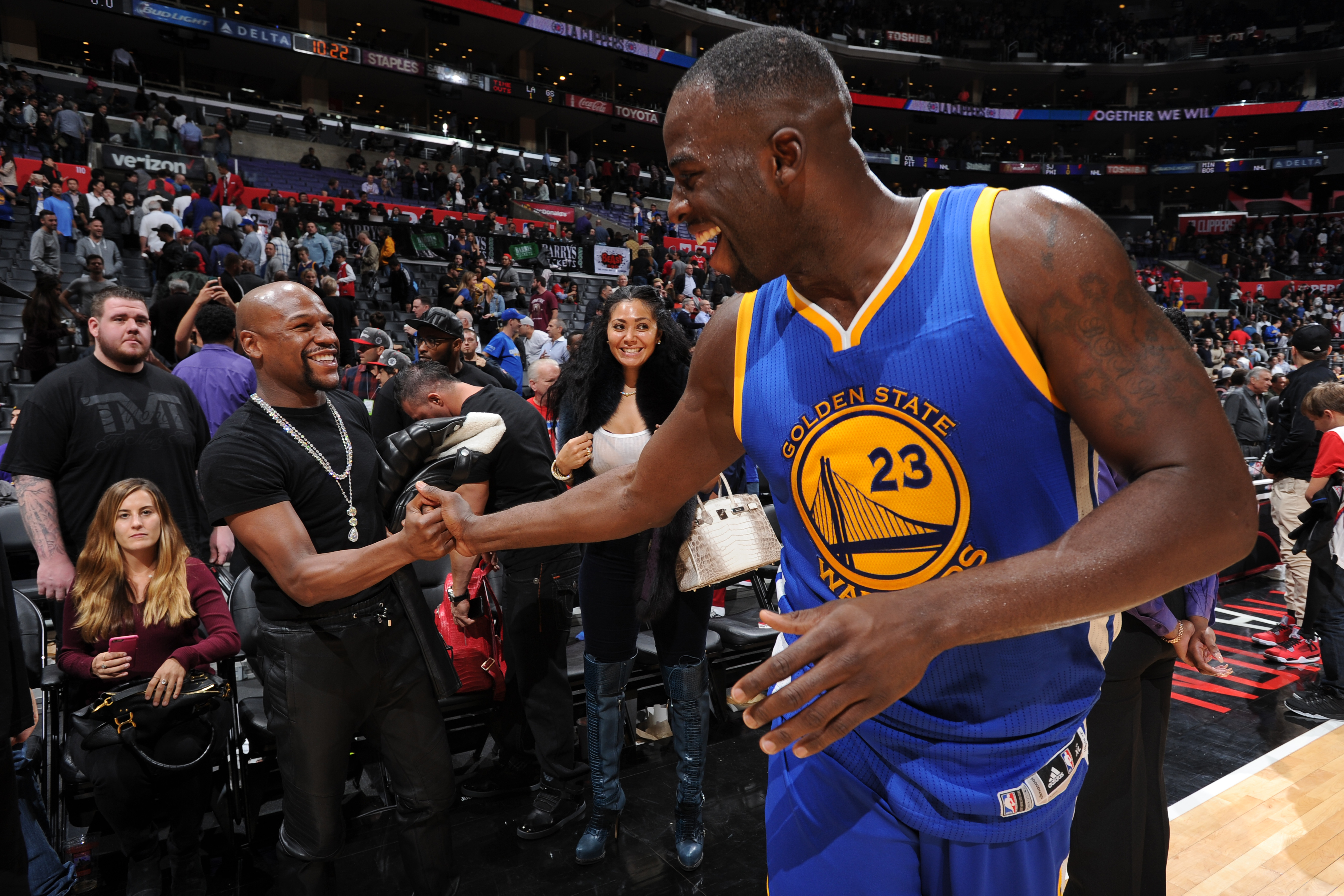 newest 5687b b9591 Golden State Warriors: Draymond Green and Conor McGregor ...