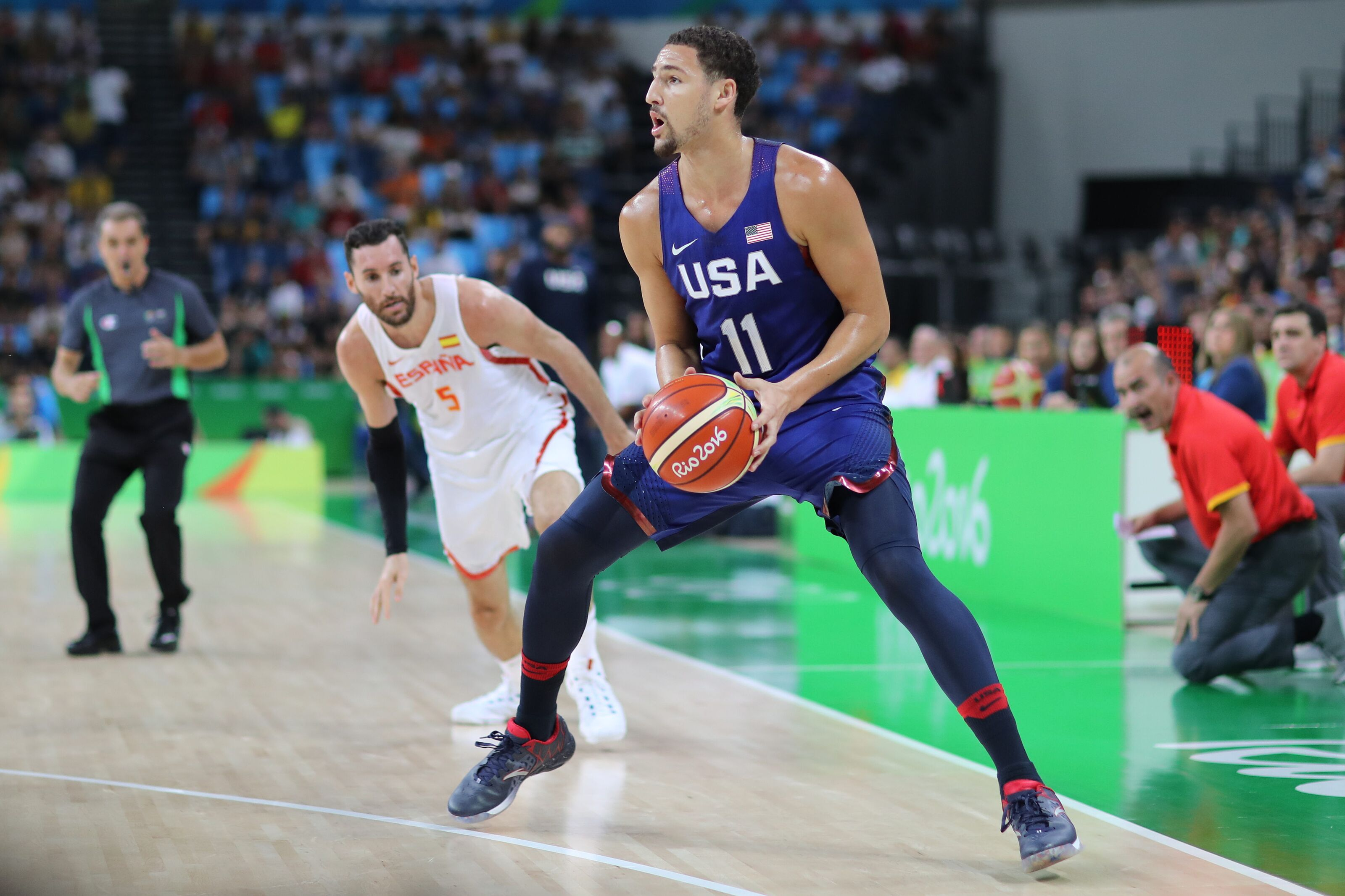 Golden State Warriors: Klay Thompson plans to play alongside Steph Curry in 2020 Olympics