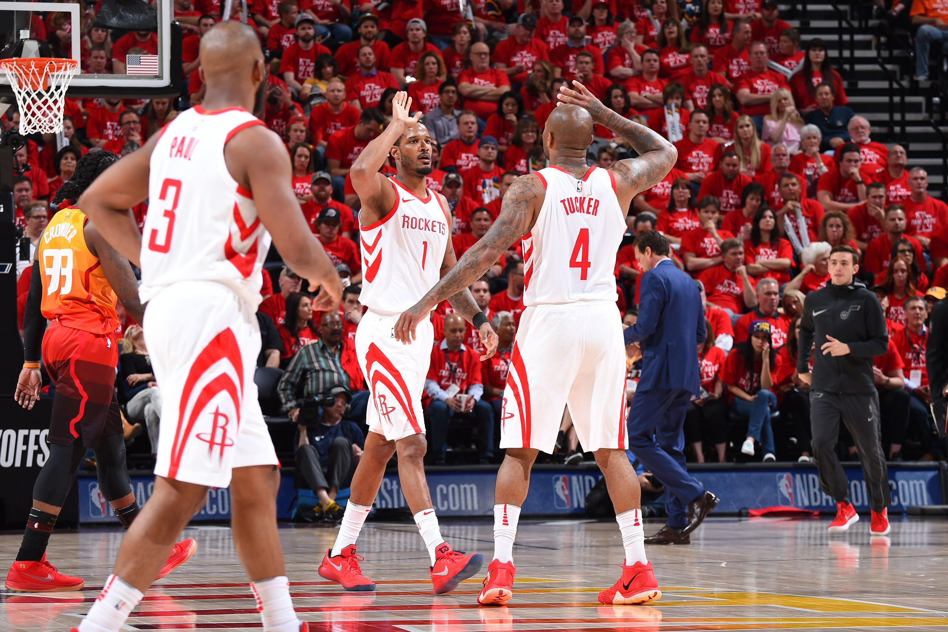 c25d0e33b4ab Warriors Playoff Scouting Report  Houston Rockets Forwards