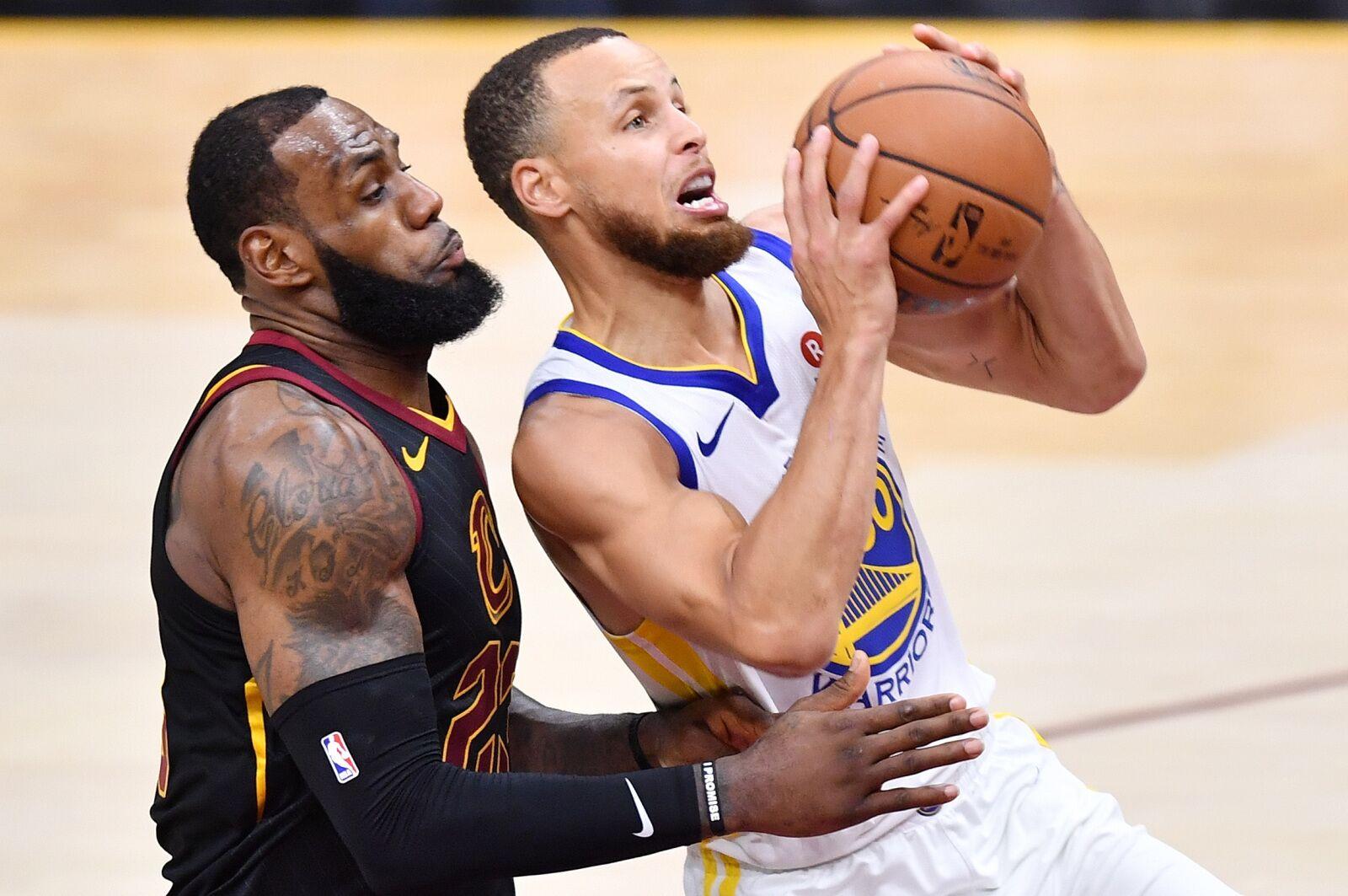 How LeBron James  move to LA impacts the Warriors 4e18af245
