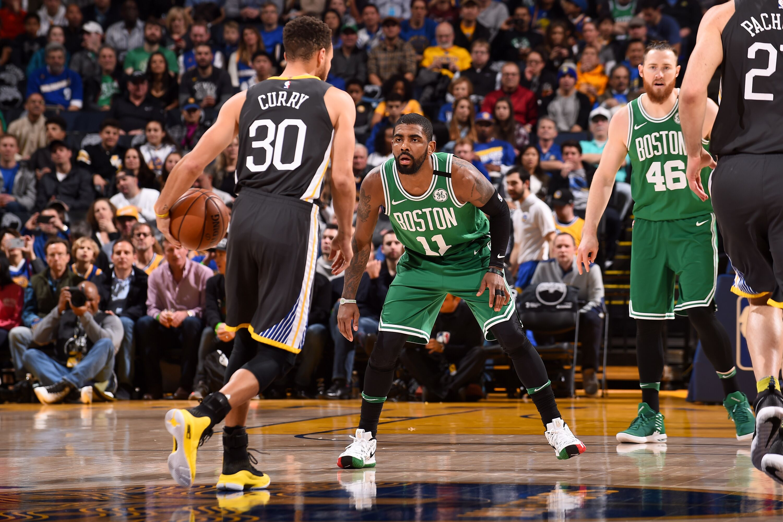 8a029de97fb Golden State Warriors  Kyrie Irving believes Celtics can dethrone the Dubs