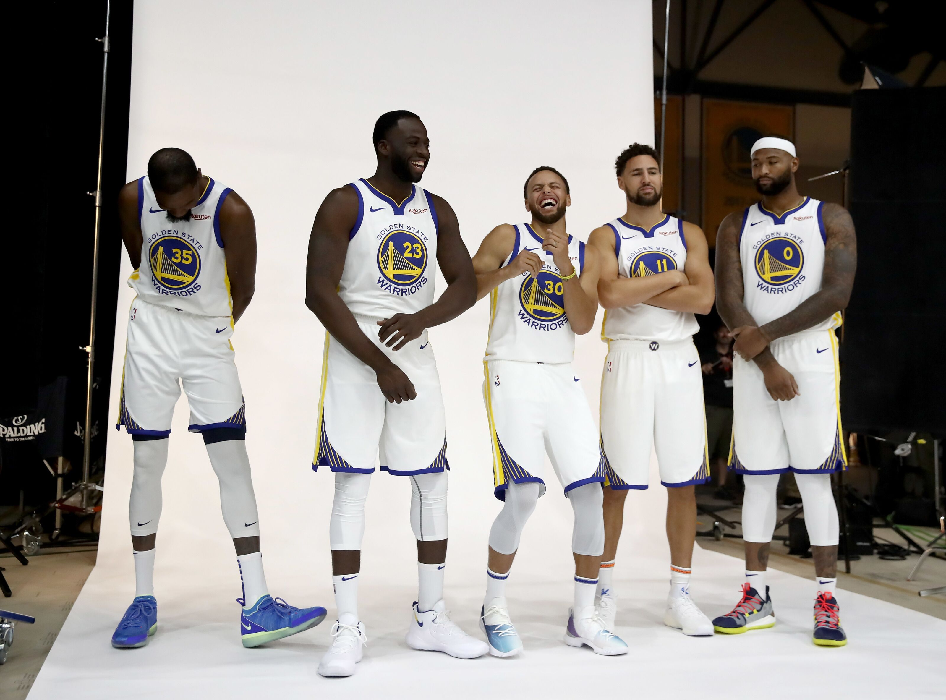 Golden State Warriors  Steve Kerr  comfortable  with post-deadline roster 437f3cfaa