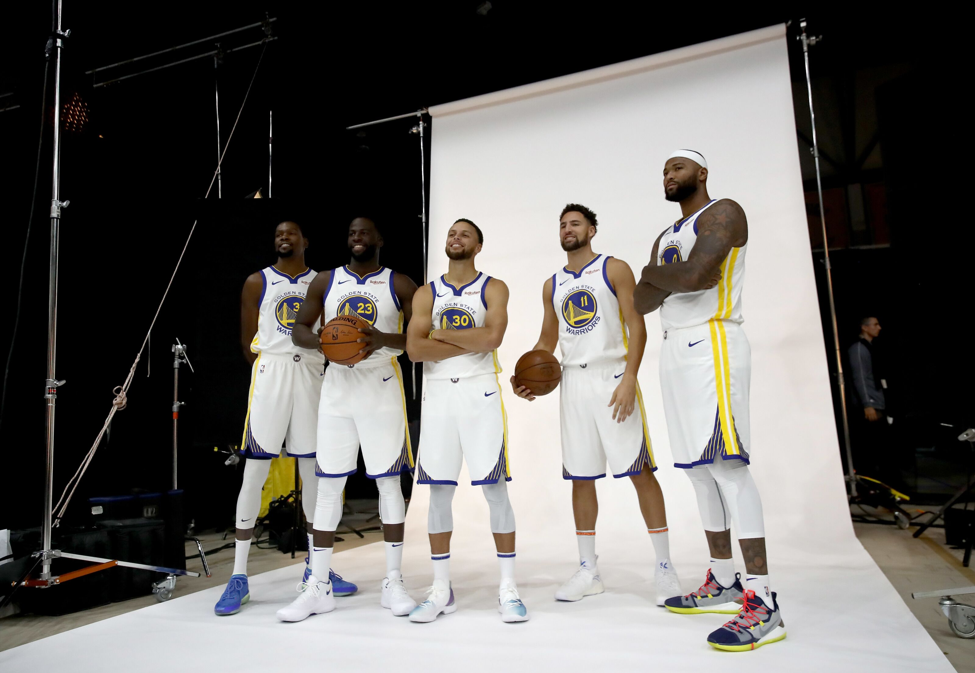 1df6a10b3 Golden State Warriors  Kerr hints at potential bench role for DeMarcus  Cousins
