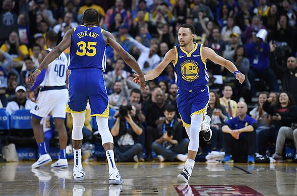 376e38af04e Golden State Warriors  The Curry-KD stagger has its weaknesses