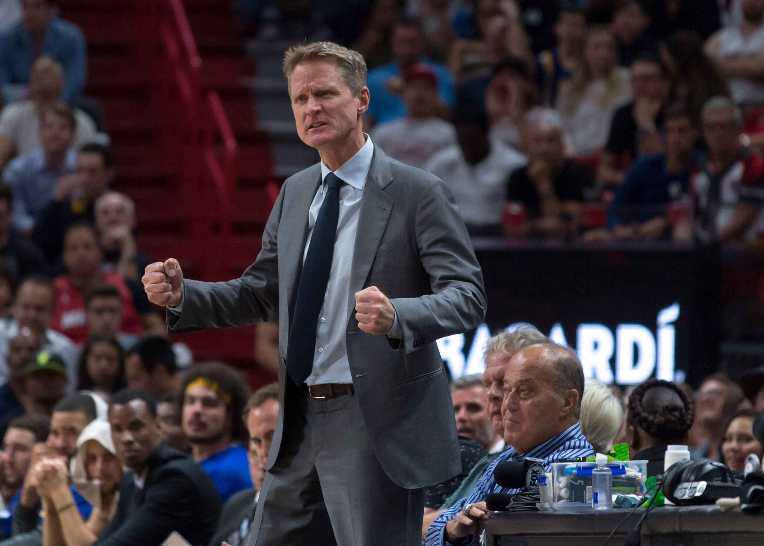 Nba Golden State Warriors At Miami Heat Steve Kerr Speaks Out On Muslim Ban