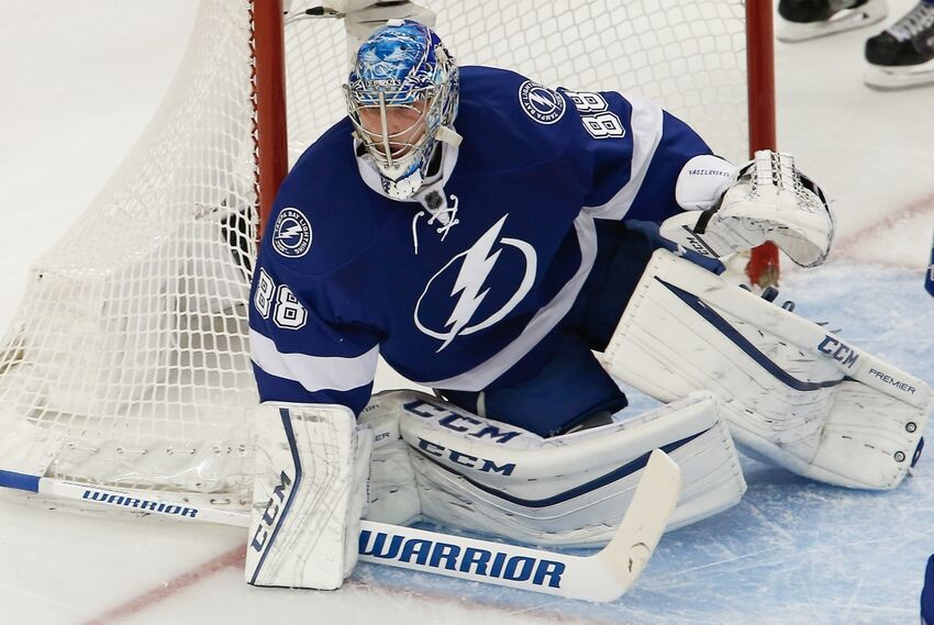 Tampa Bay Lightning Goalie Andrei Vasilevskiy S New Mask Unveiled