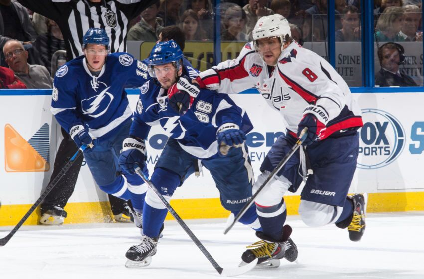 00d9bec15 Stanley Cup Playoffs Head-To-Head  Nikita Kucherov and Alex Ovechkin  collide in ECF