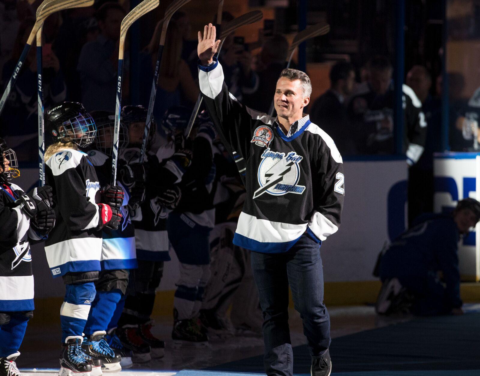 56c8dbaa826 Tampa Bay Lightning alum Martin St. Louis named to Hockey Hall of Fame