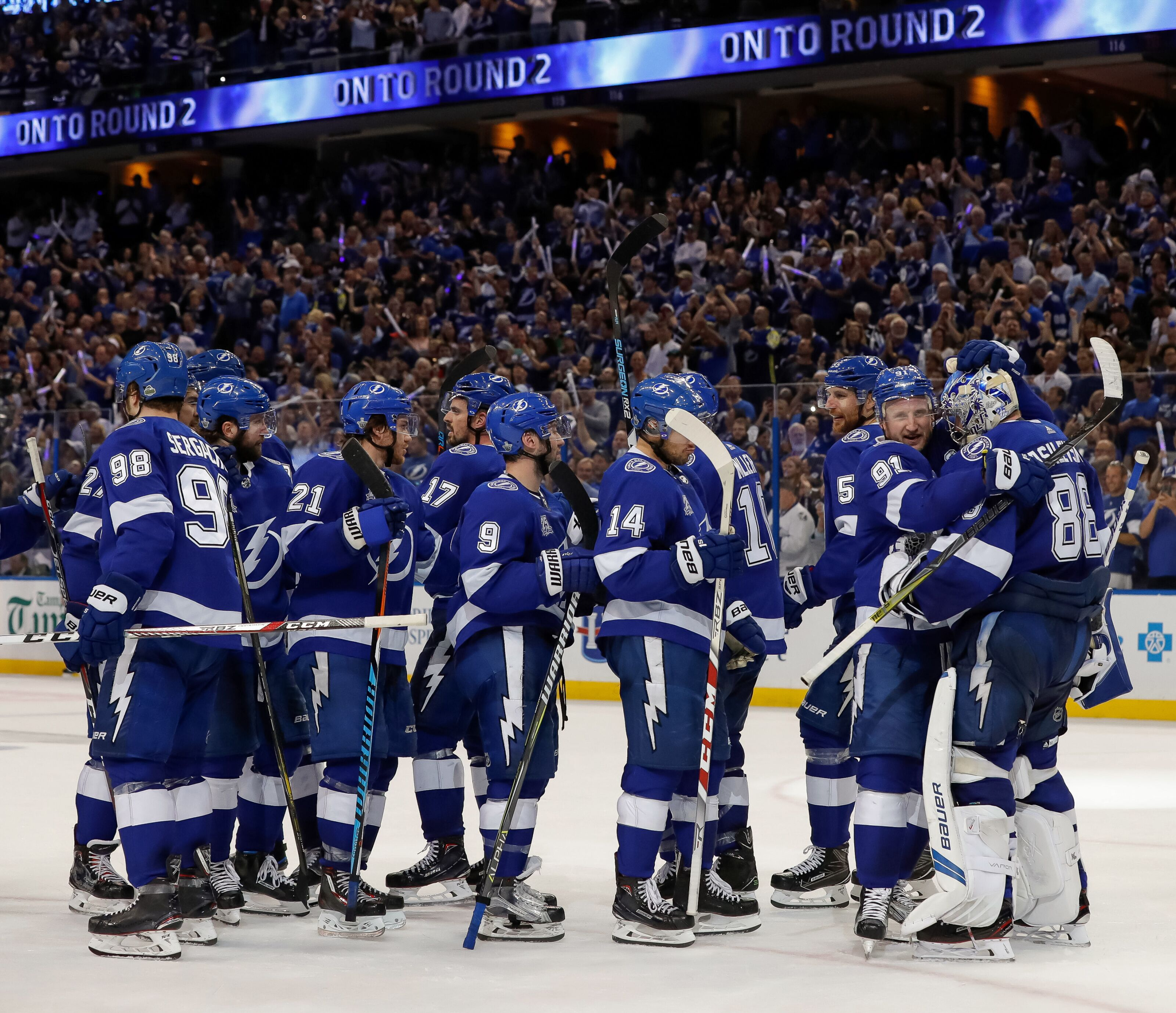 Stanley Cup Playoffs  Tampa Bay Lightning advances to next round with 3-1  victory over Devils c54d3eb4a