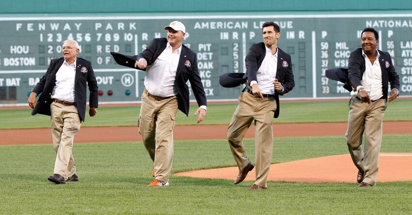 The first time red sox roger clemens struck out 20 batters - Pedro martinez garcia ...