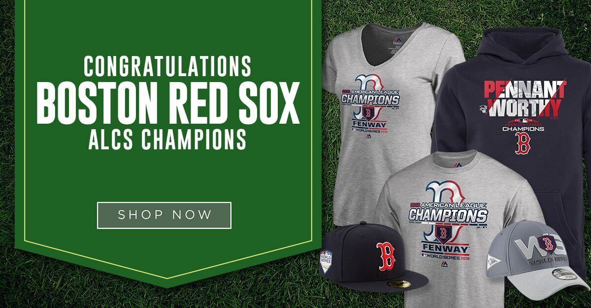 newest 6da55 7f2f9 The Boston Red Sox are AL champs. It's time to gear up.
