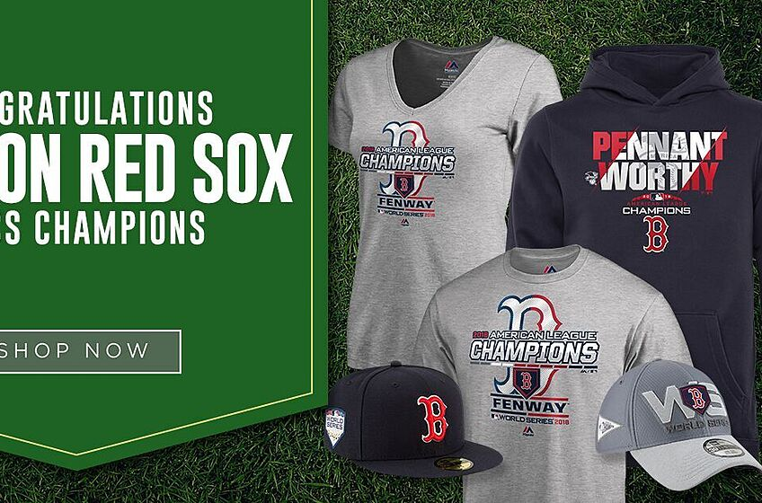 newest bf25f 4591c The Boston Red Sox are AL champs. It's time to gear up.