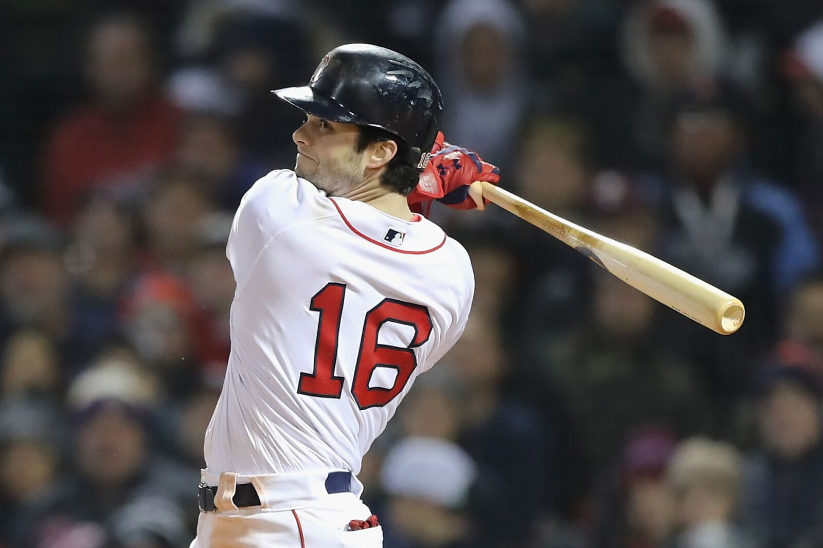 3a95dc53fb9 Red Sox leadoff hitter Andrew Benintendi thrives with runners on base