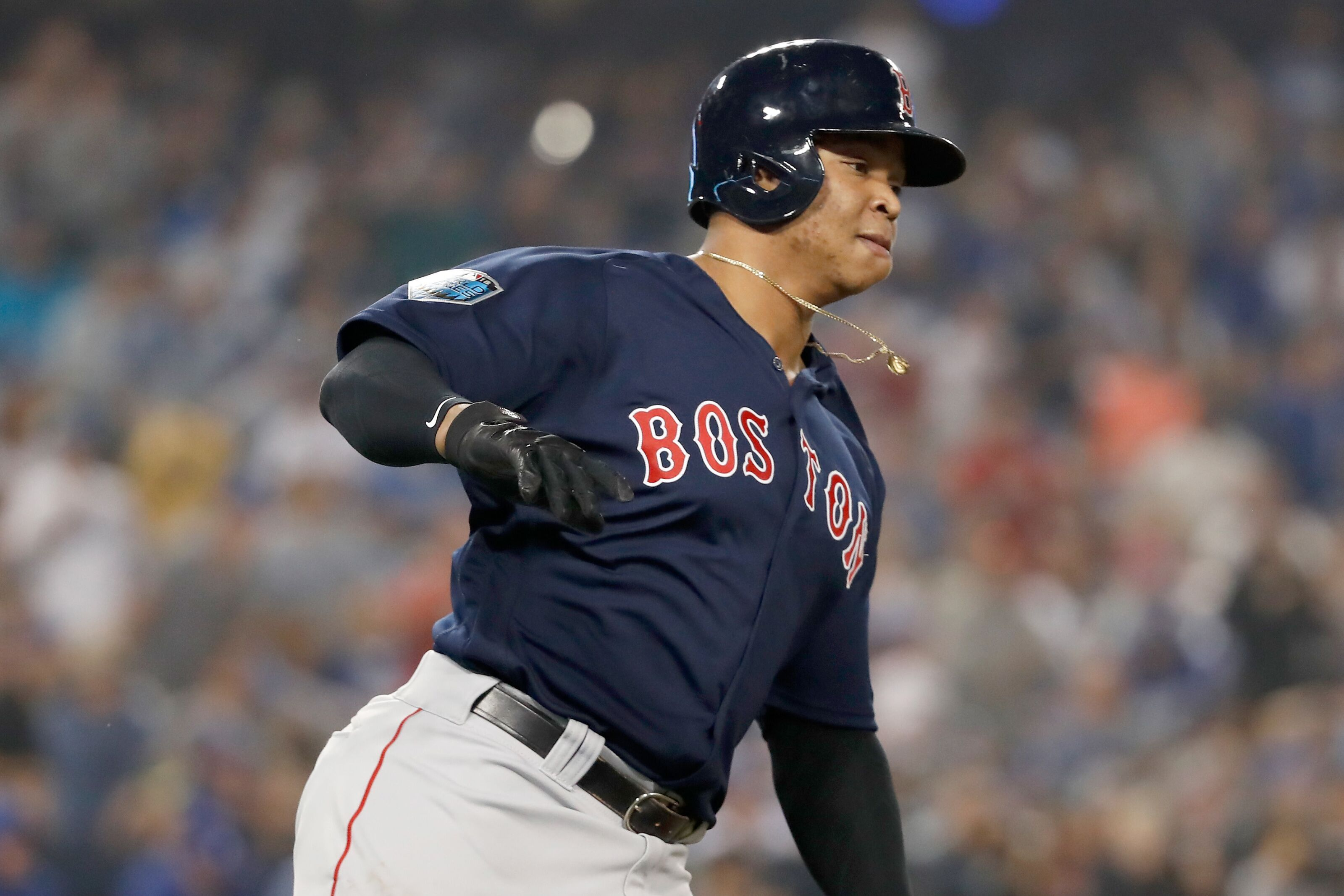 Red Sox World Series Game 4: Rafael Devers delivers game-winning RBI