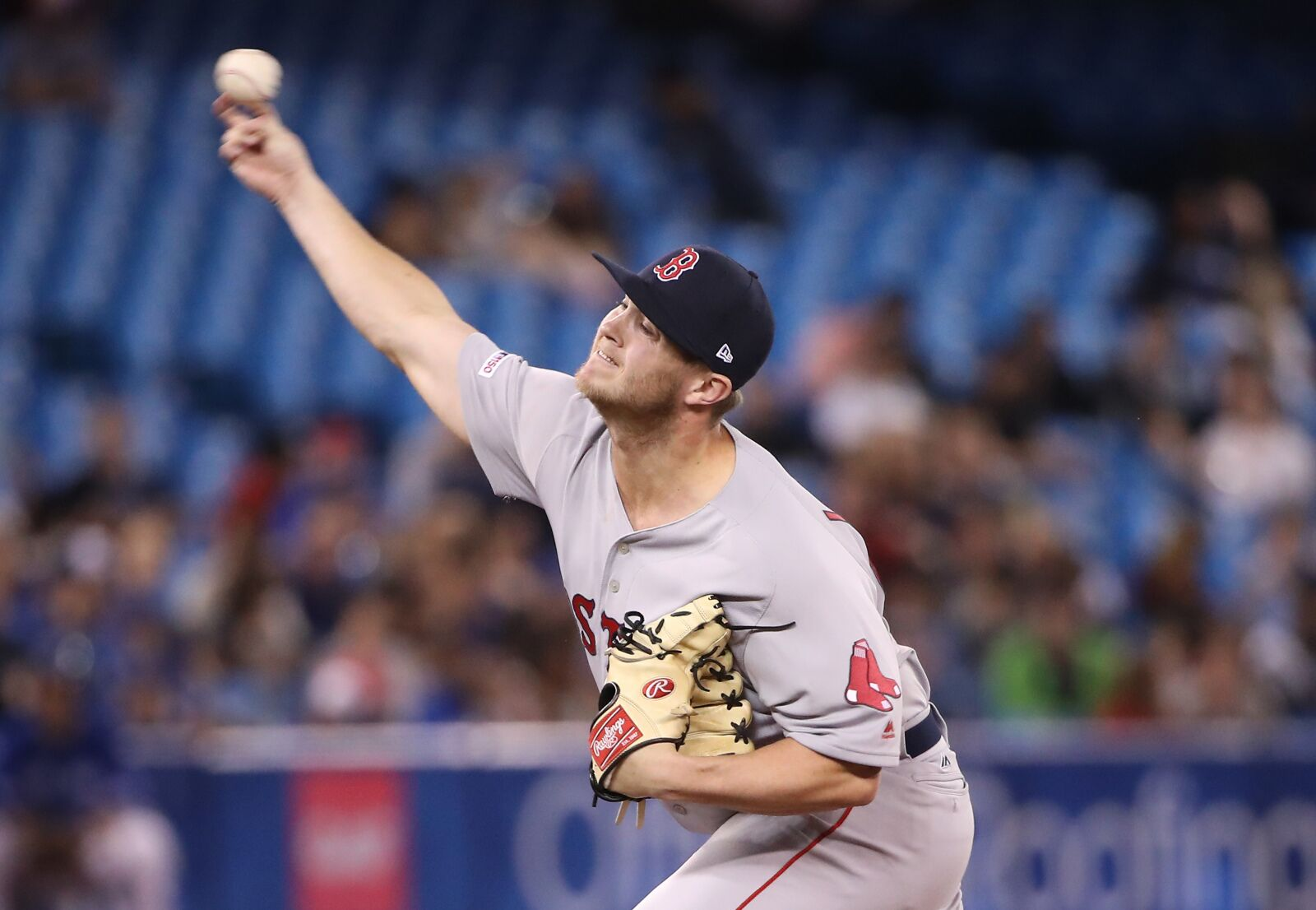 Red Sox reliever Travis Lakins is eyeing a bullpen spot in 2020
