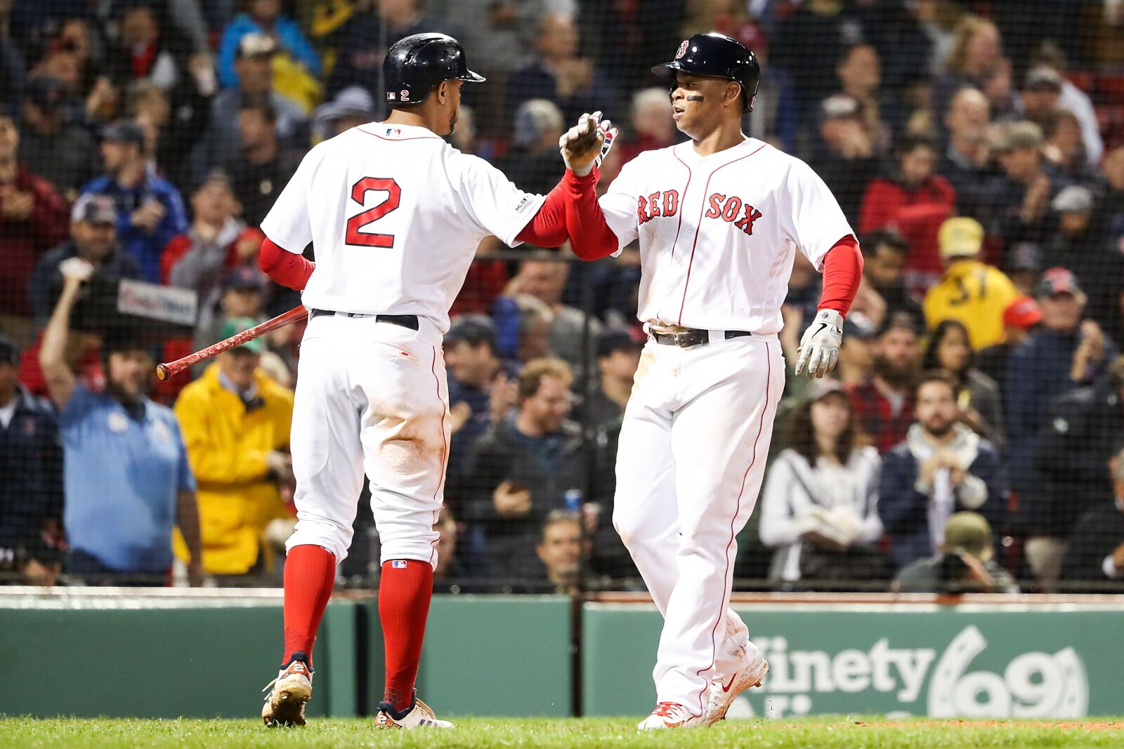 Red Sox trio accomplish milestone never before seen in franchise history