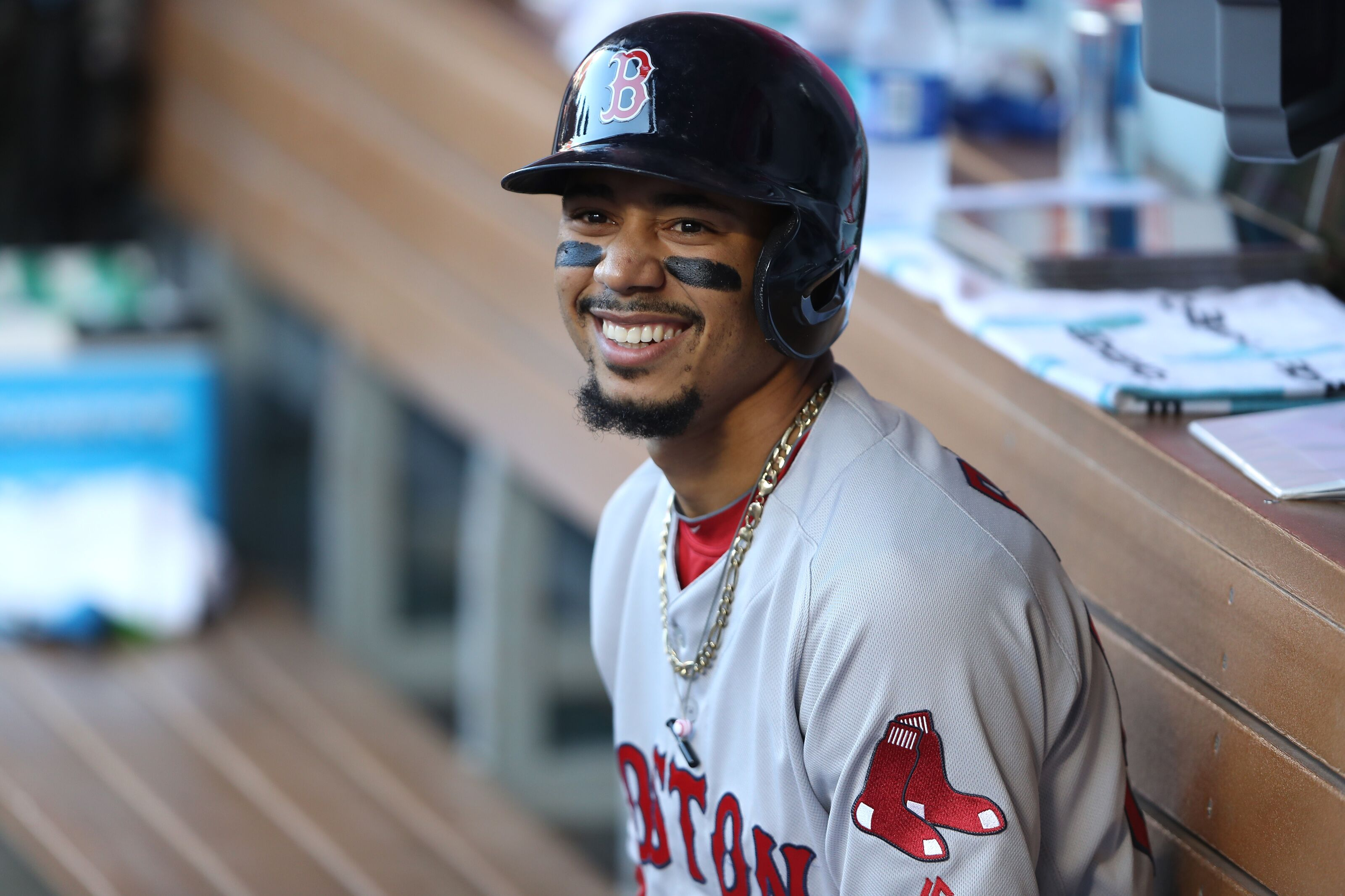 Red Sox could trade Mookie Betts, then sign him in free agency