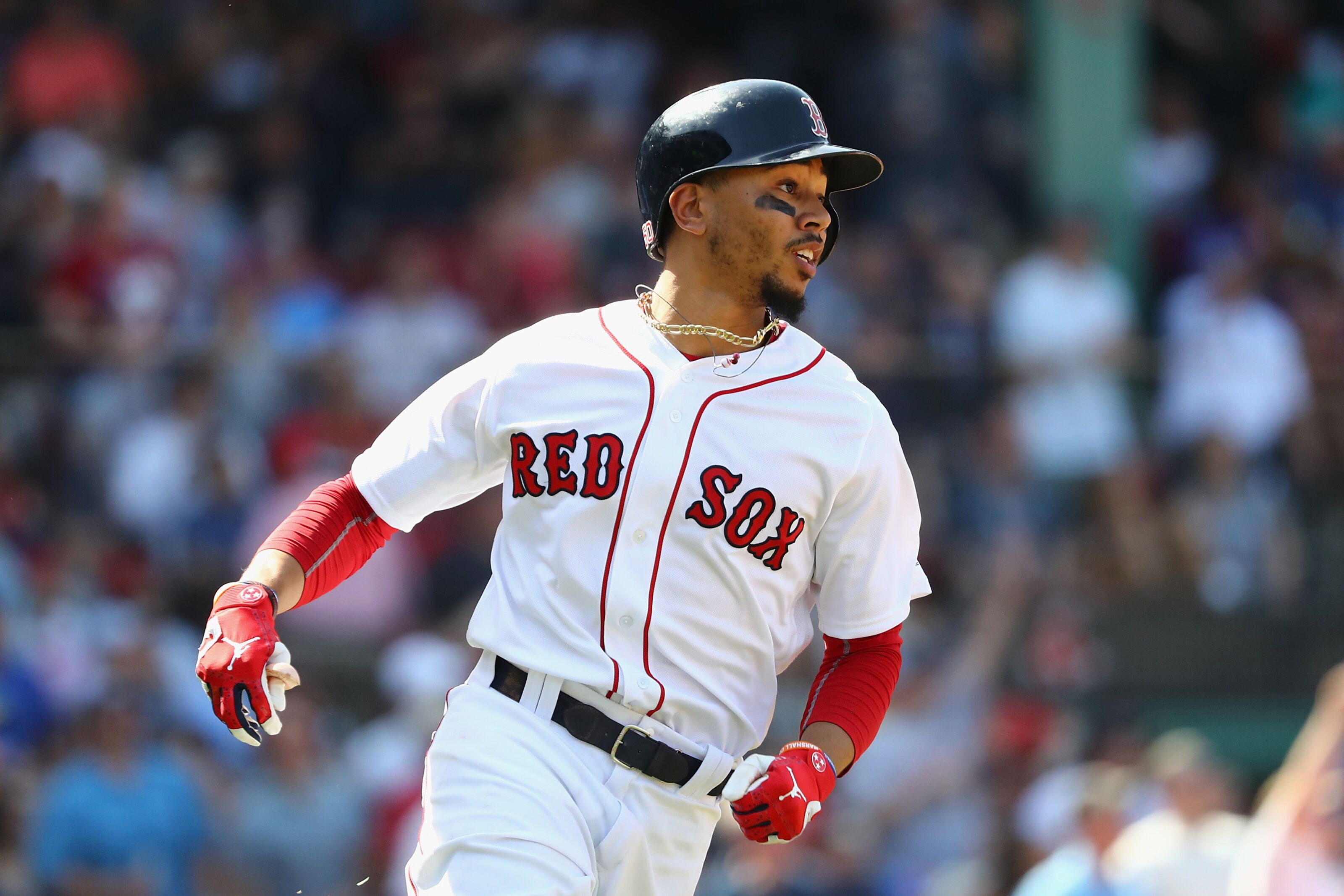 Red Sox Outfielder Mookie Betts Due For A Dusting Following