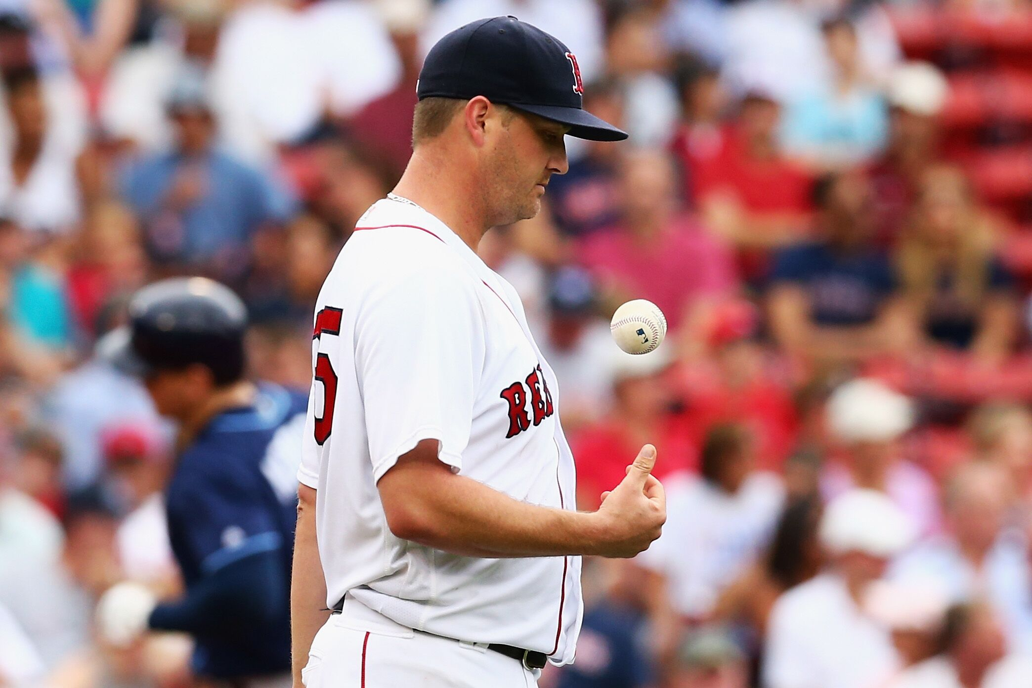 5de95b68684 Red Sox place knuckleball pitcher Steven Wright on disabled list