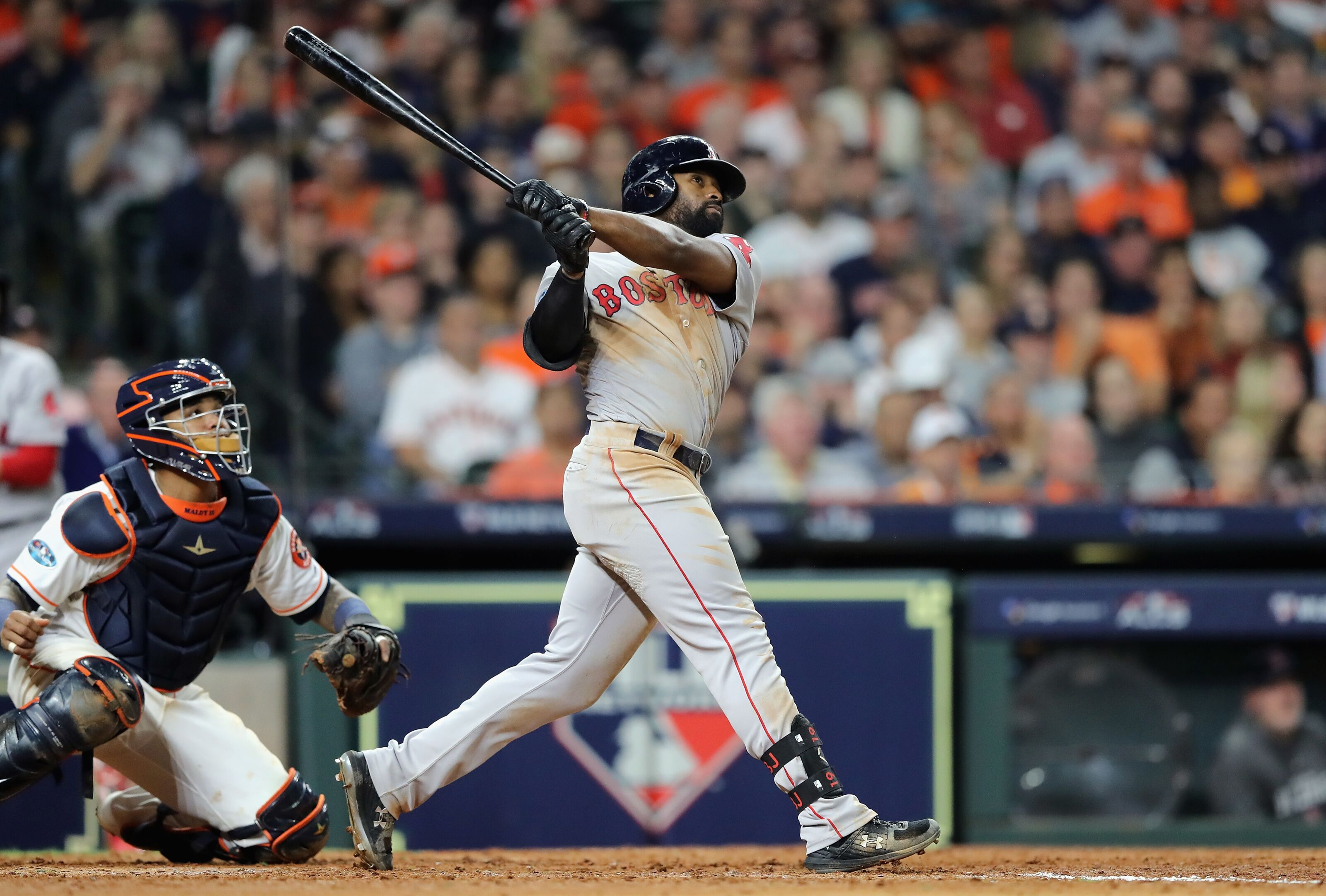 Red Sox outfielder Jackie Bradley Jr.'s future uncertain amidst trade rumors