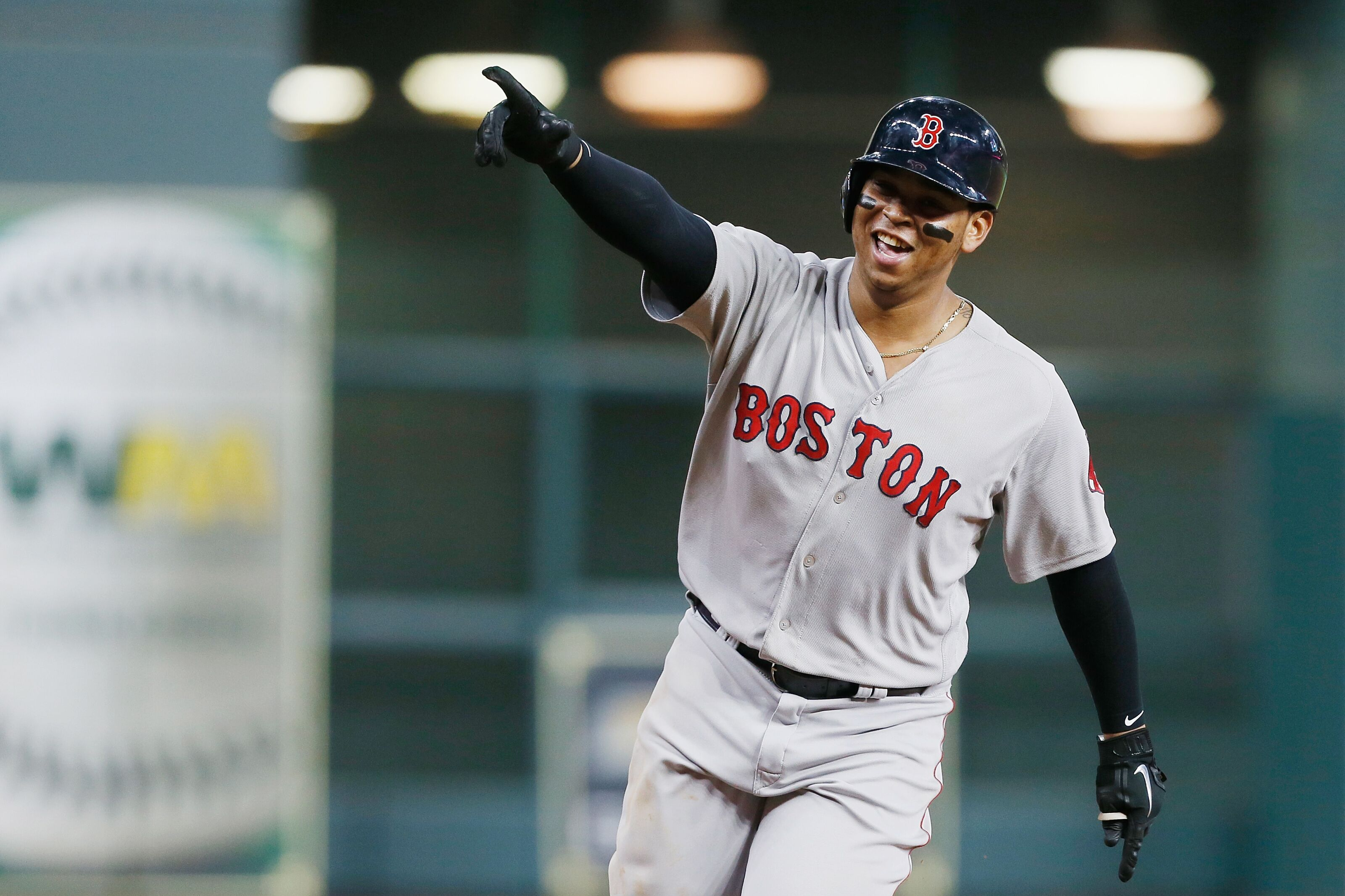 Red Sox third baseman Devers has gone from hindrance to hero