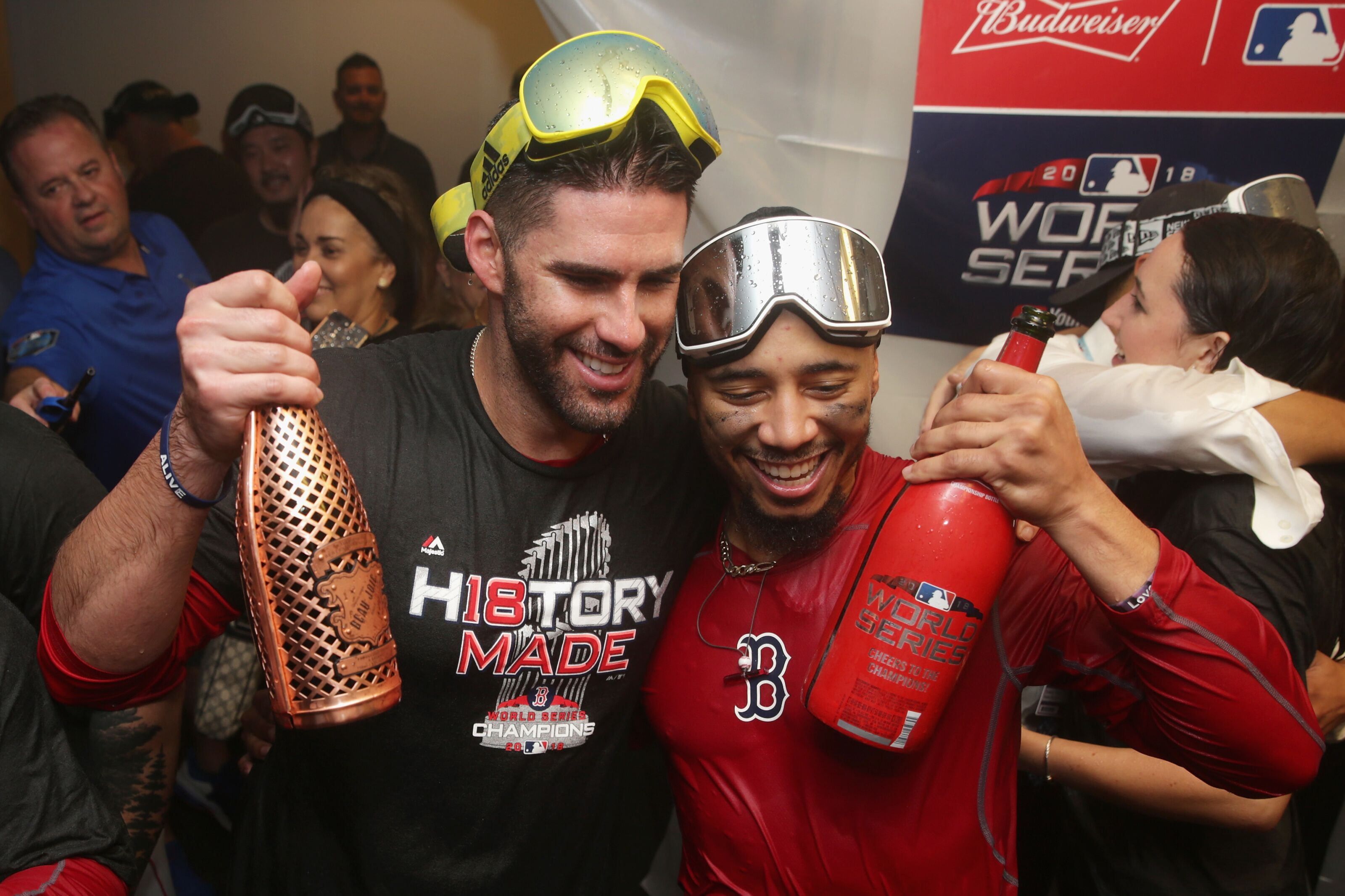 Red Sox: J.D. Martinez remaining with club for the 2020 season