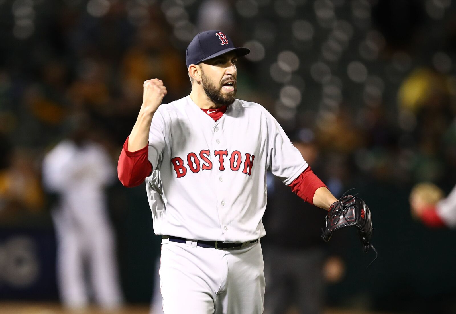 Which Boston Red Sox relievers are in the circle of trust?