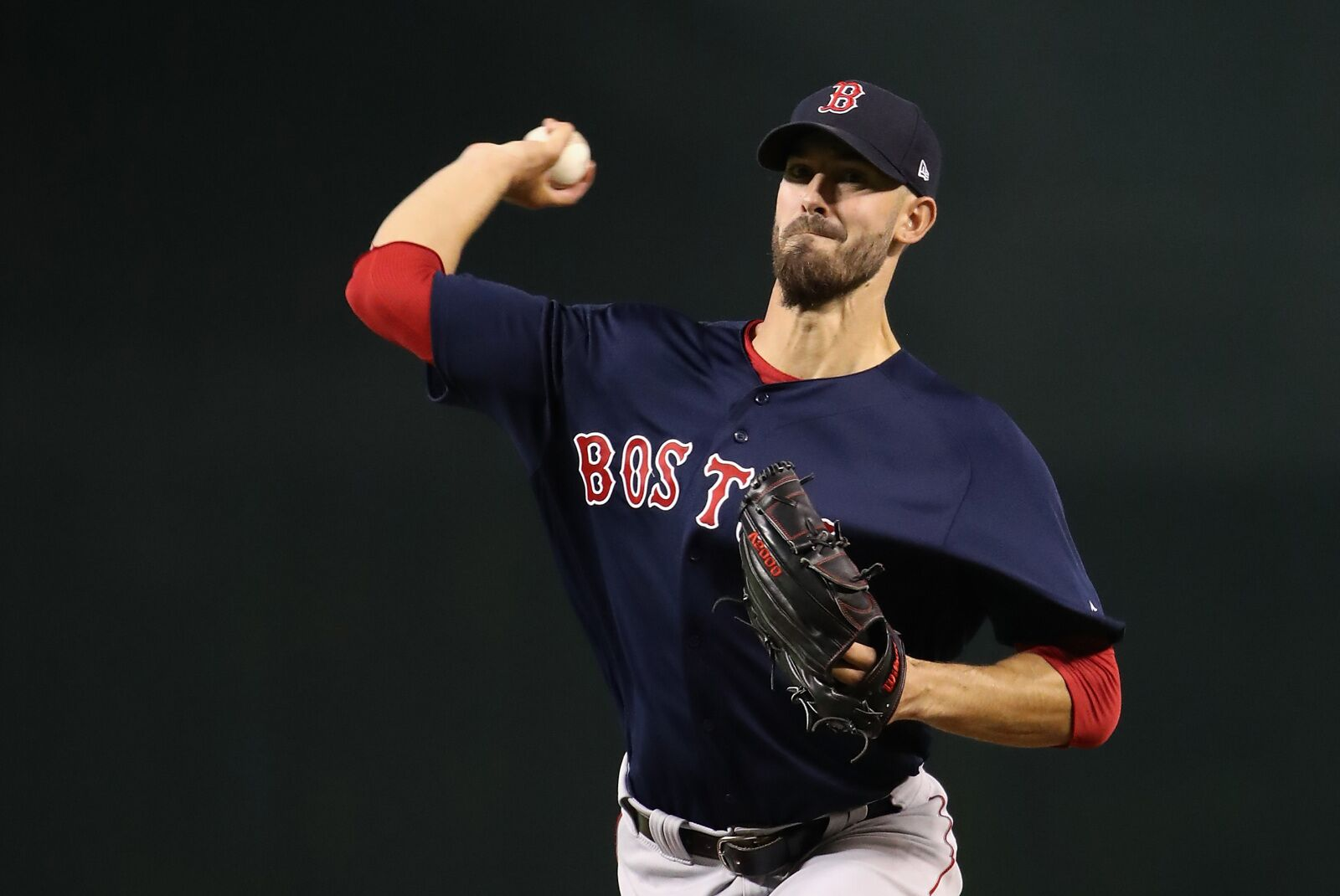 Red Sox starter Rick Porcello finishing his miserable season on positive note