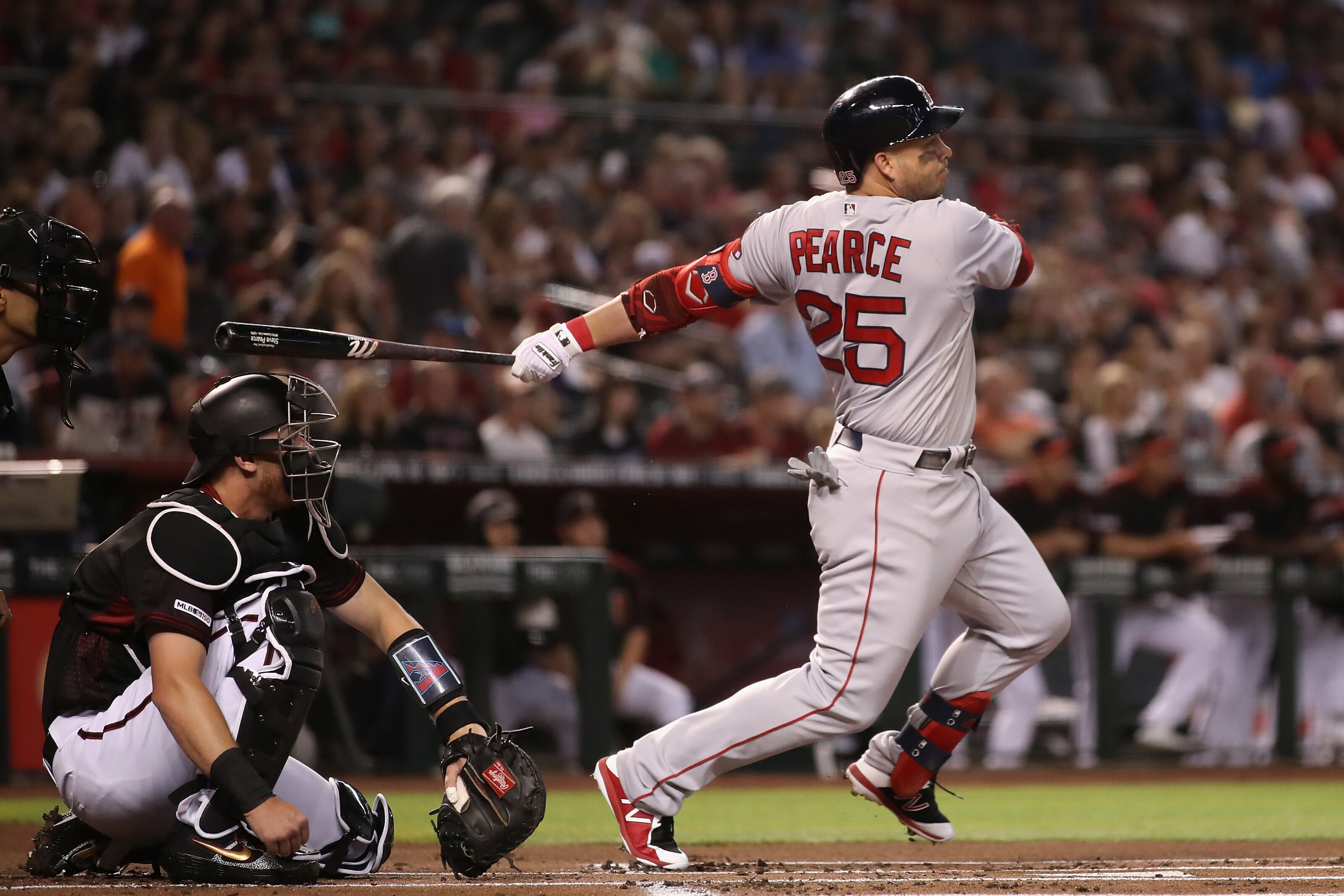 """Red Sox Injury Update: Steve Pearce """"close to activation"""", others progressing"""