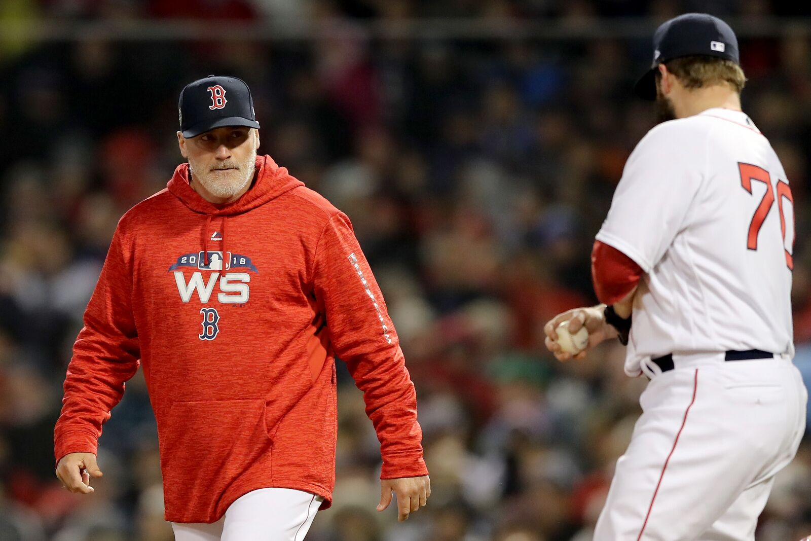 Red Sox remove Dana LeVangie from his current role and rightfully so