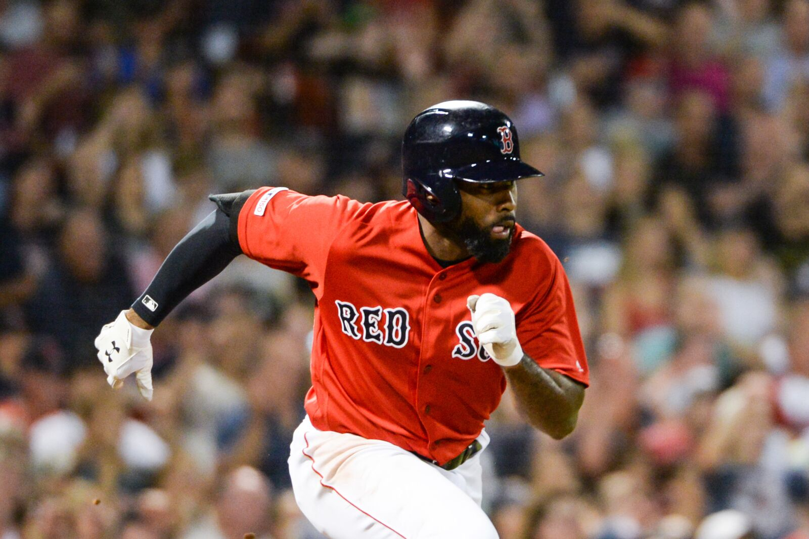 Red Sox are tendering a 2020 contract to center fielder Jackie Bradley Jr.