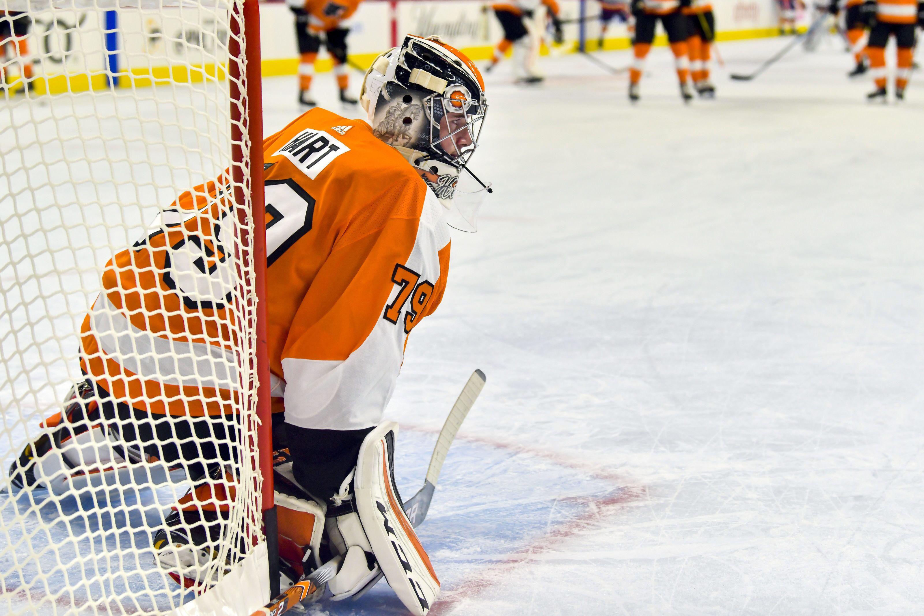 f4fe00f2d Philadelphia Flyers loan Carter Hart