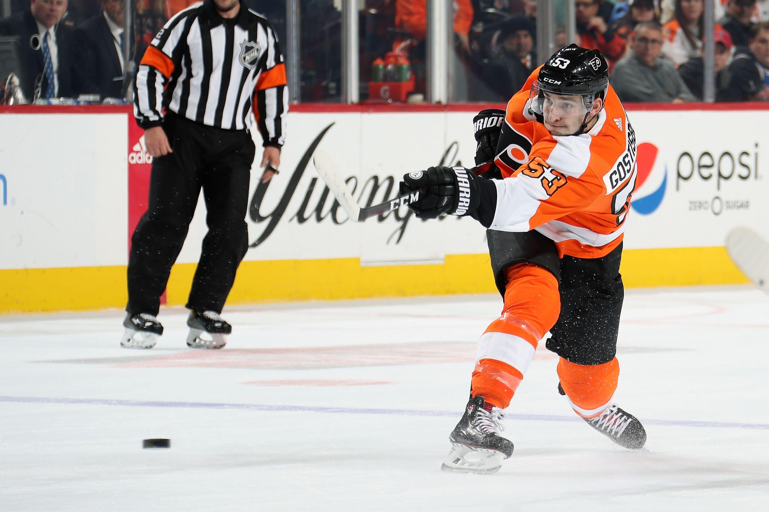76f56c01c40 Gostisbehere scores OT winner as Philadelphia Flyers defeat Coyotes 5-4