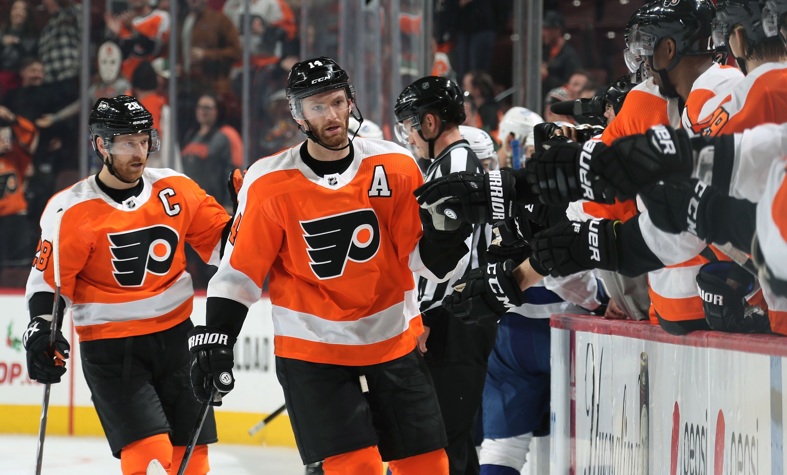 Sean Couturier a player to watch for Philadelphia Flyers vs Columbus