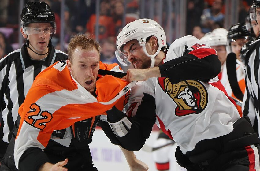 Third Period Collapse Plagues Philadelphia Flyers In Loss Vs Senators