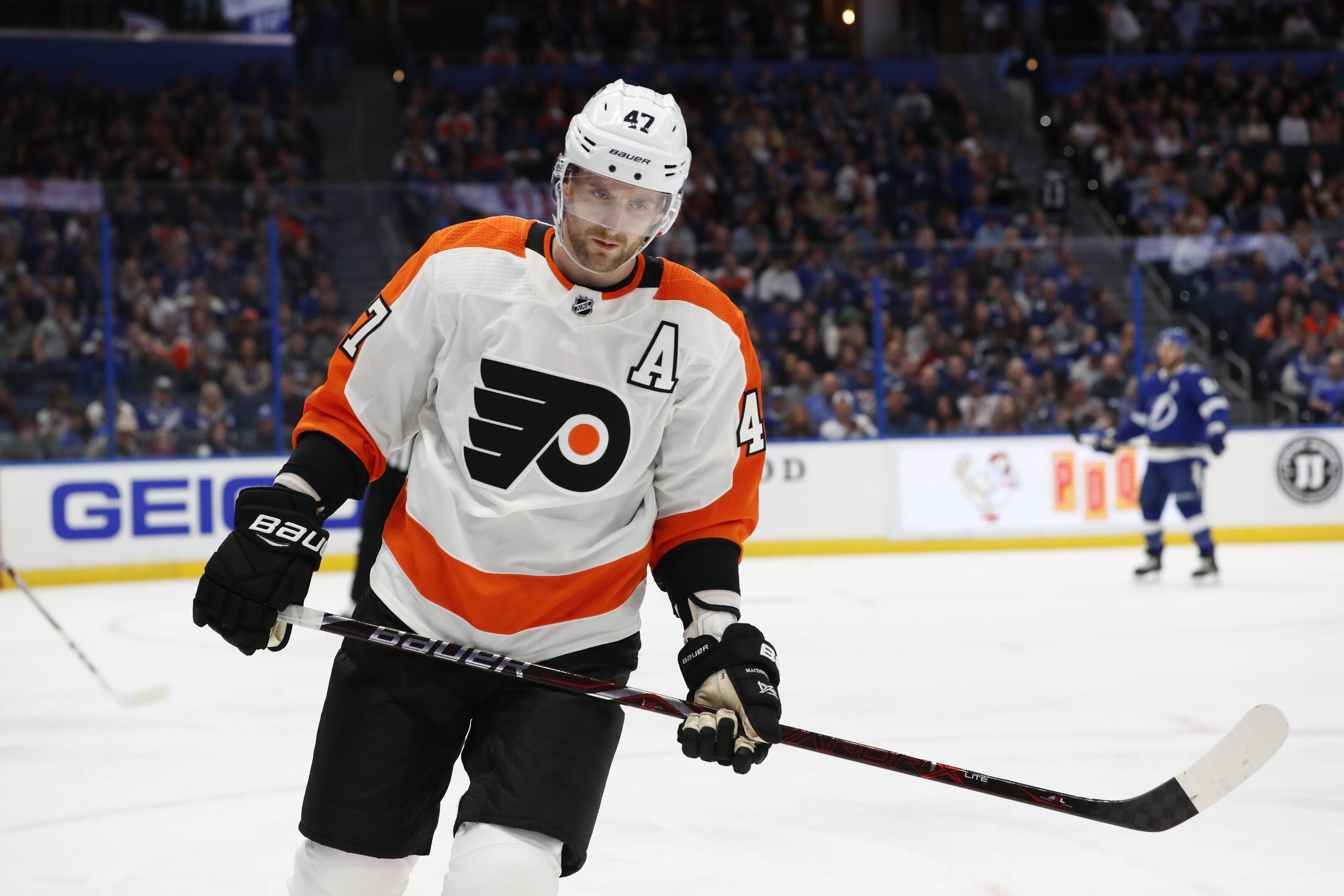 Philadelphia Flyers Place Andrew MacDonald On Unconditional Waivers