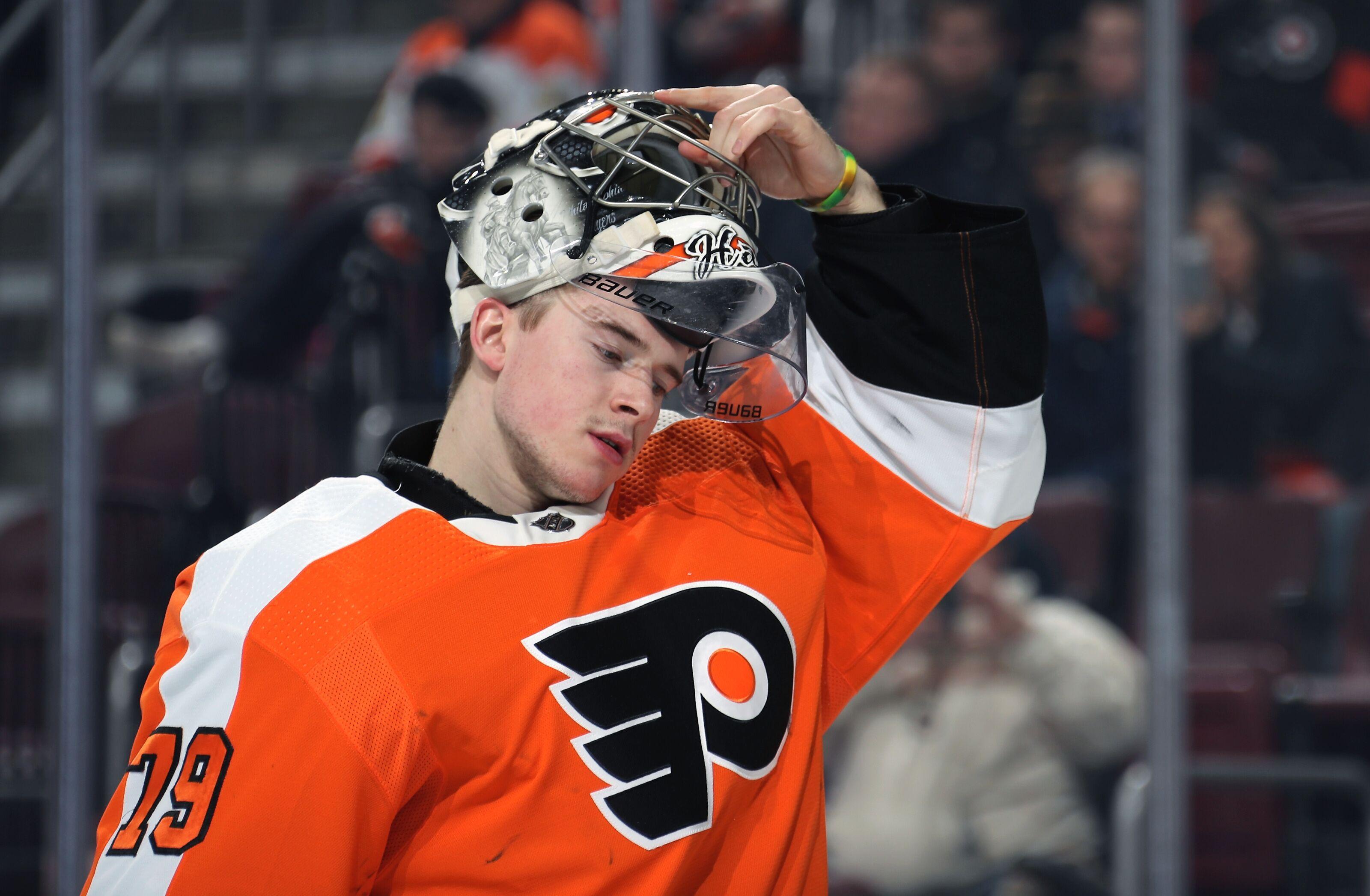 Philadelphia Flyers: Carter Hart proving his Goalie of the Future status