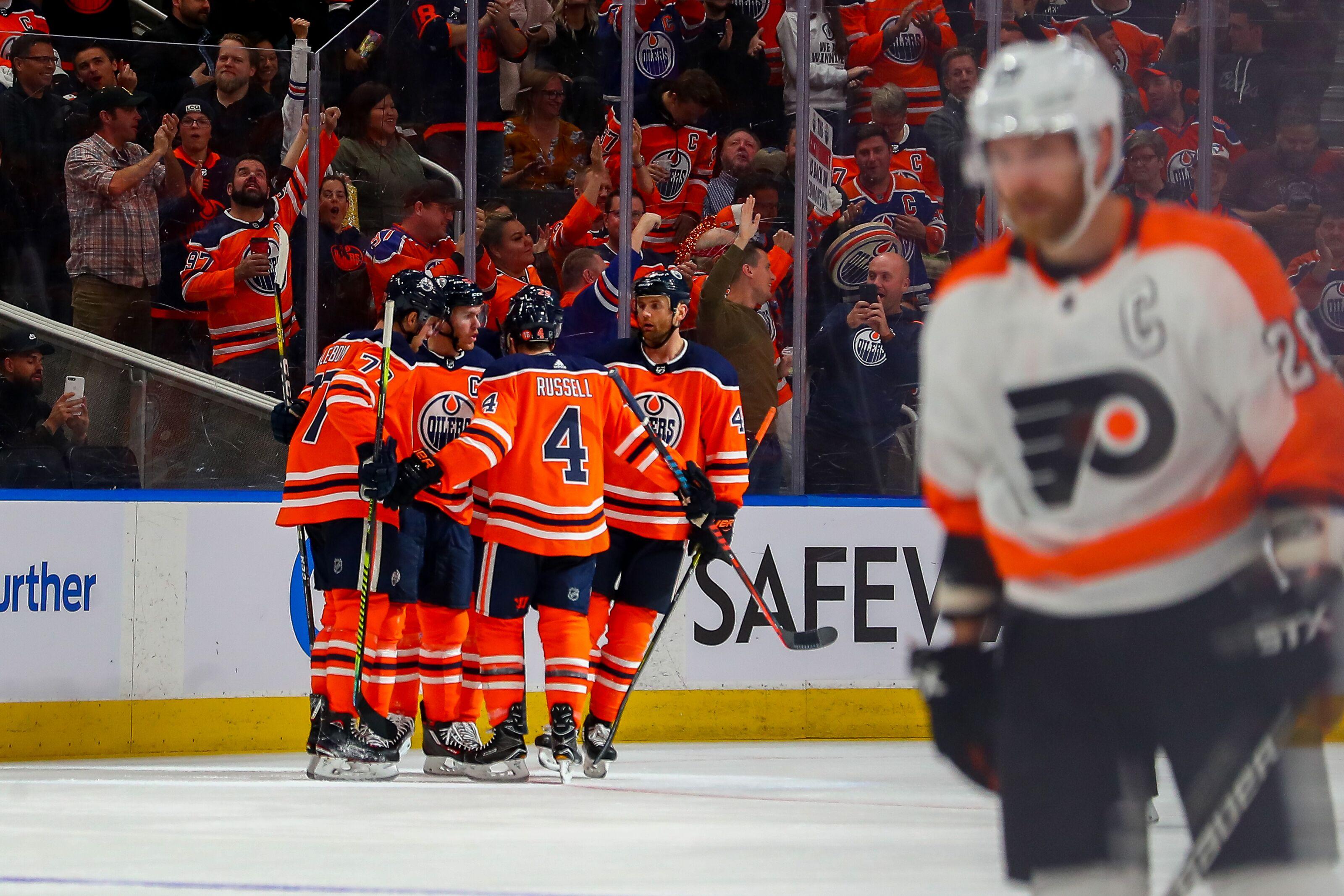 Philadelphia Flyers Blown Out By Edmonton Oilers 6-3