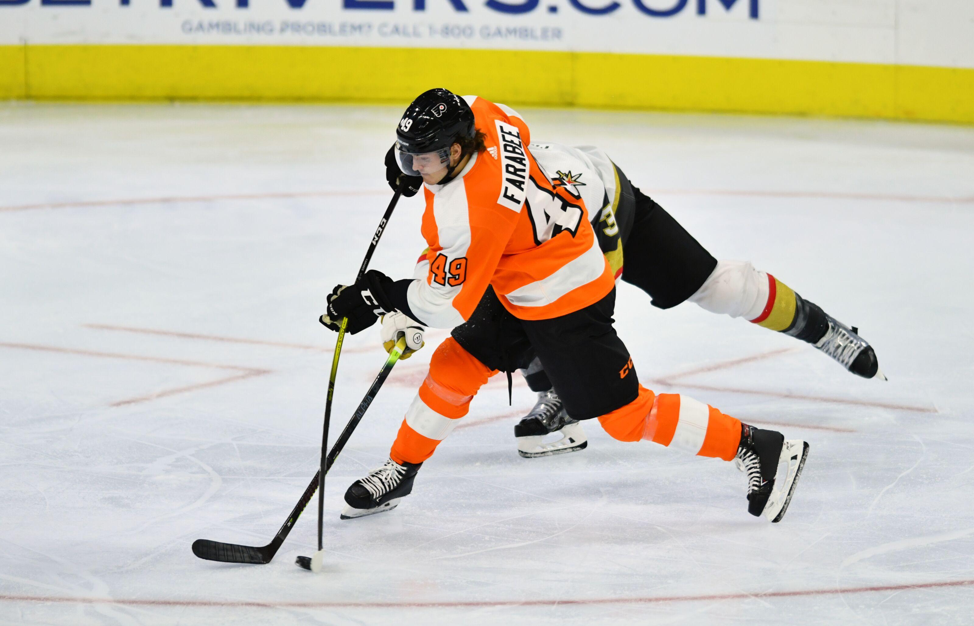 Philadelphia Flyers: How Did Joel Farabee Look In His First NHL Game?