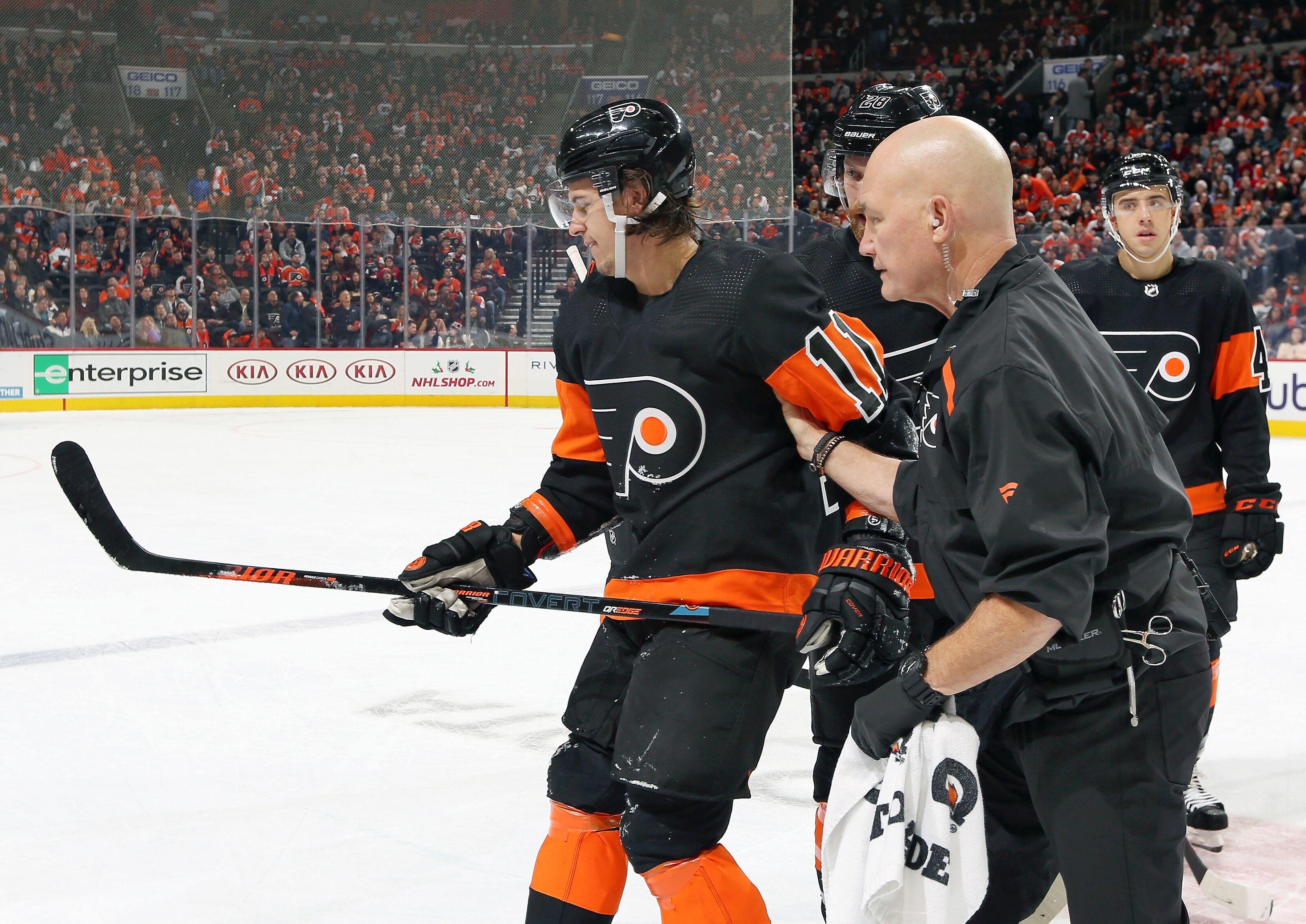 The Flyers Can't Let Travis Konecny's Injury Break Their Spirits