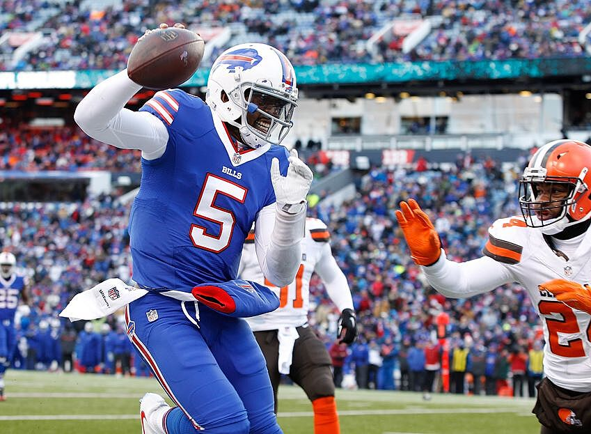 09dbfc82ee5 Tyrod Taylor  Statistics That Will Surprise Buffalo Bills  Fans