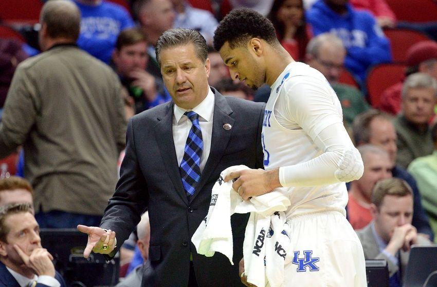 Kentucky Basketball Coach John Calipari Previews 2016 17: NCAA Basketball: Busting Brackets Too Soon Top 25
