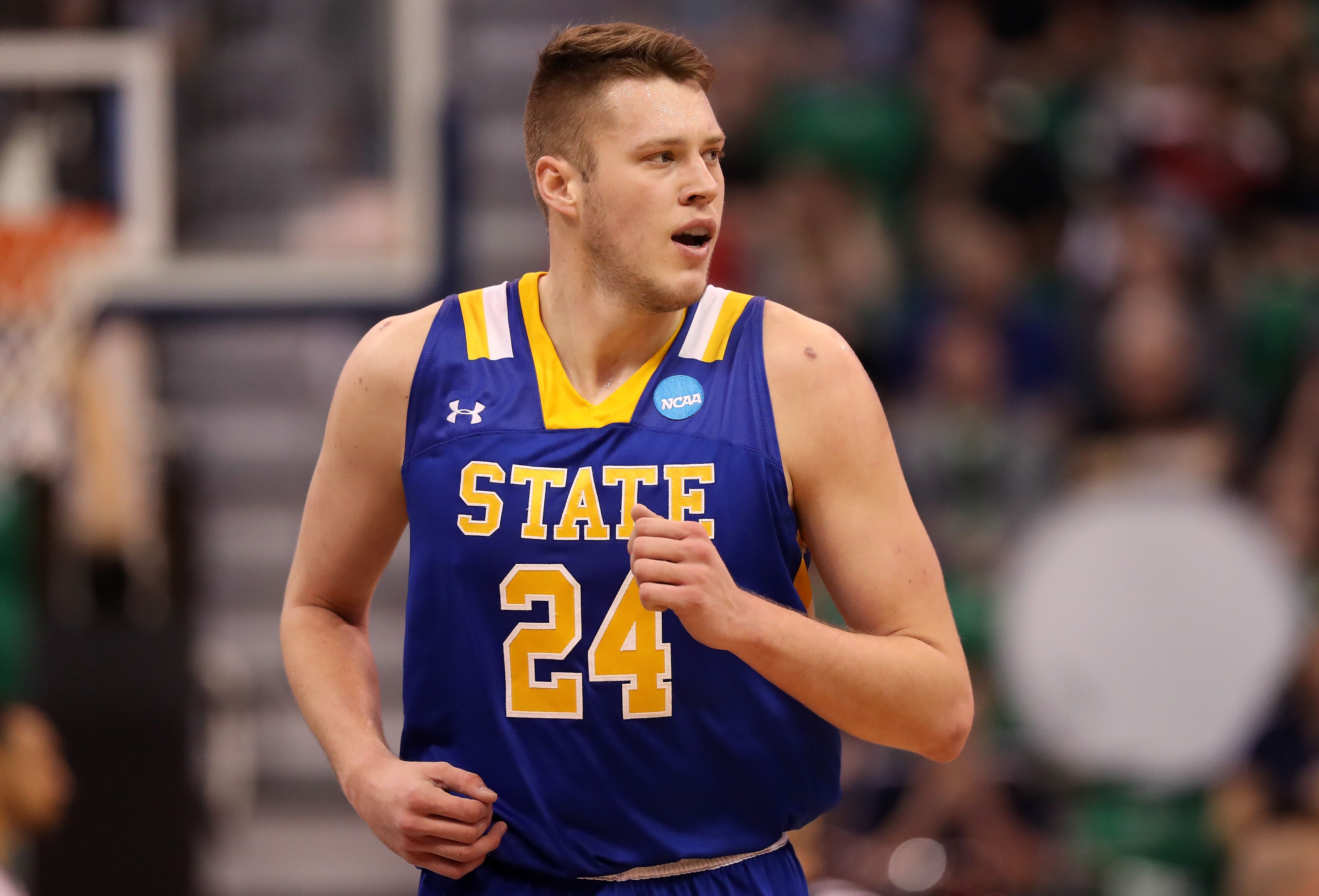 0ca150b0afc South Dakota State stud forward Mike Daum is closing in on 3,000 points